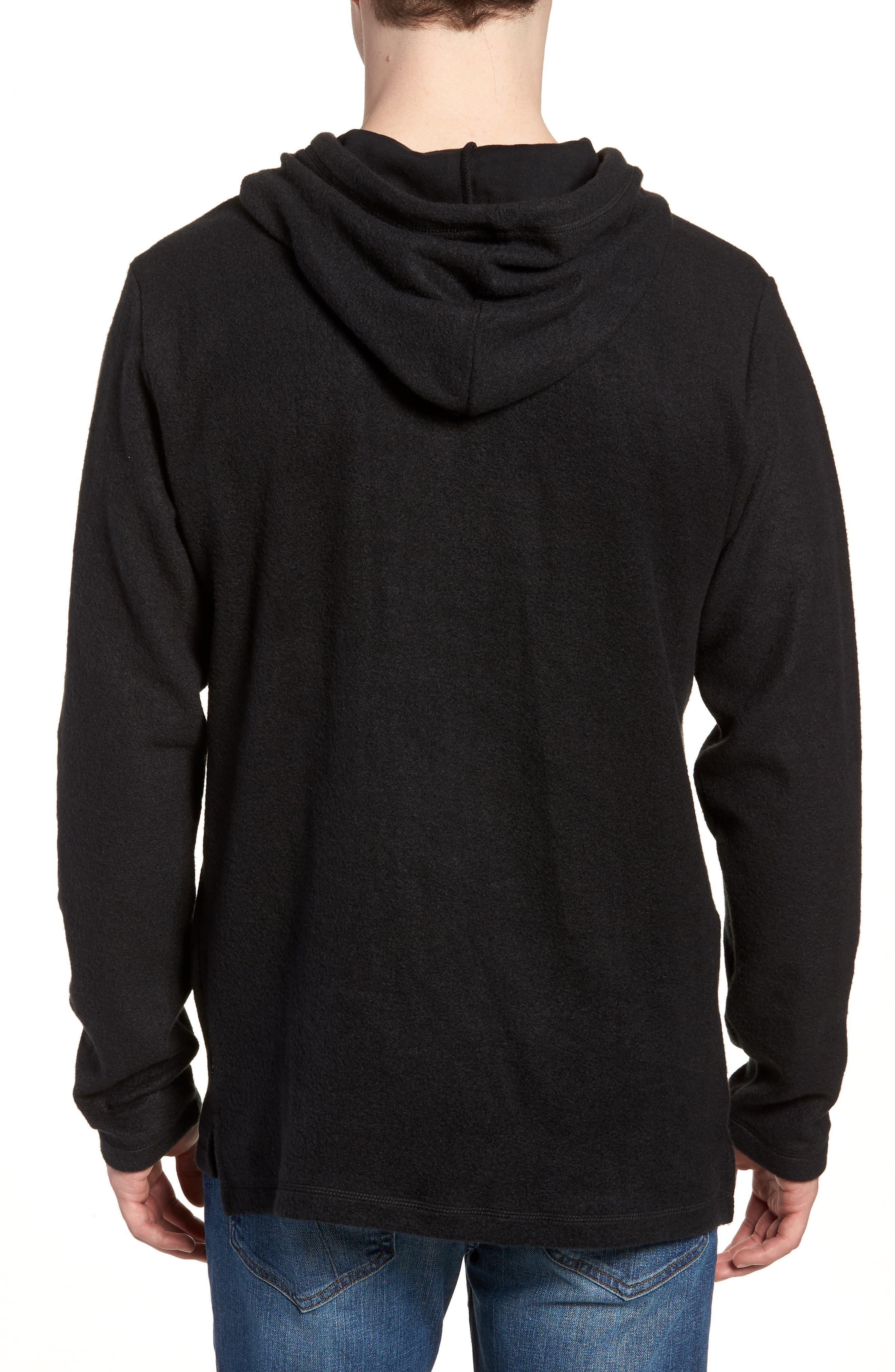 Burch Eye Hoodie Sweatshirt,                             Alternate thumbnail 2, color,                             Black