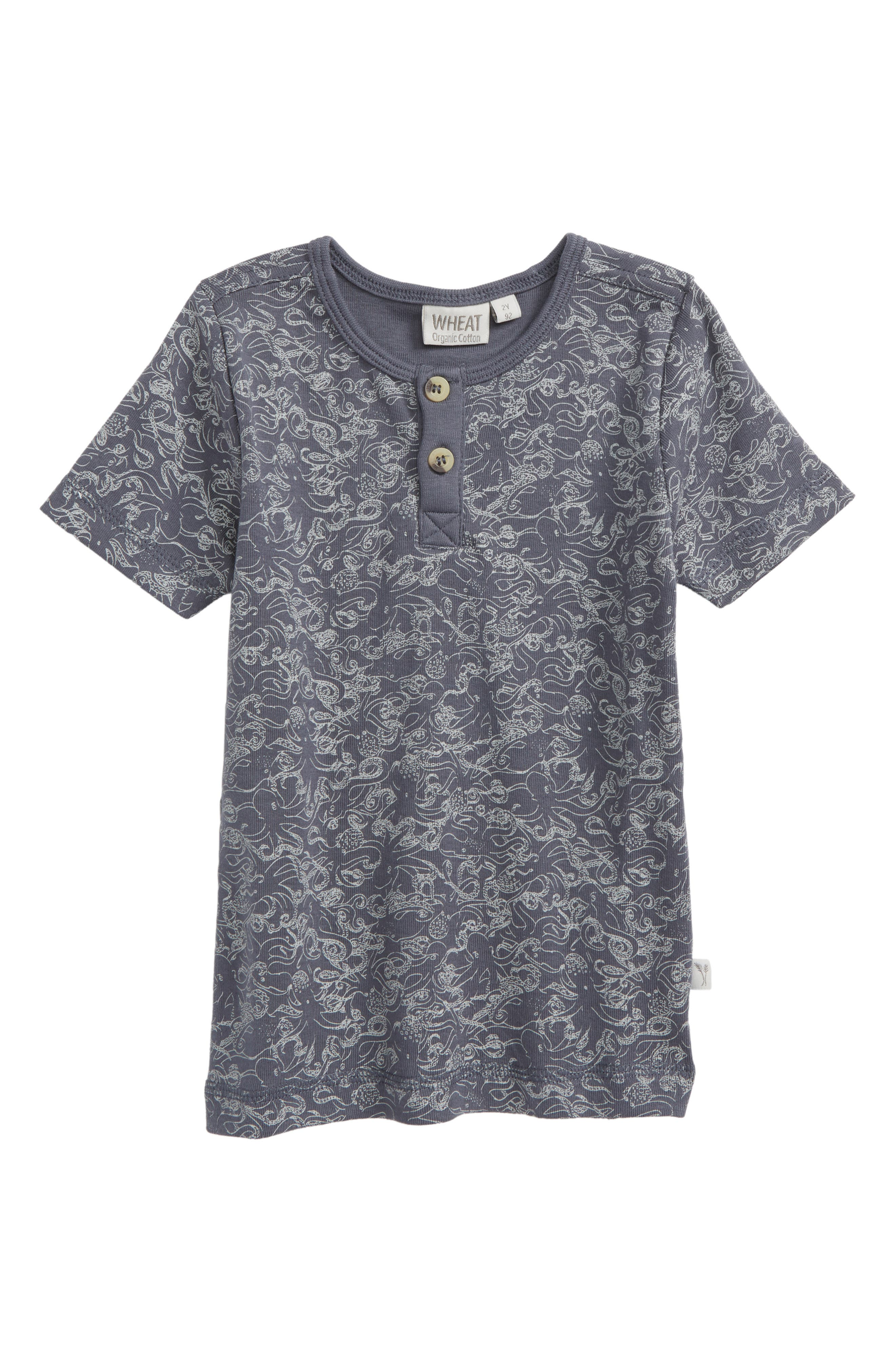 Bertram Print T-Shirt,                         Main,                         color, Greyblue