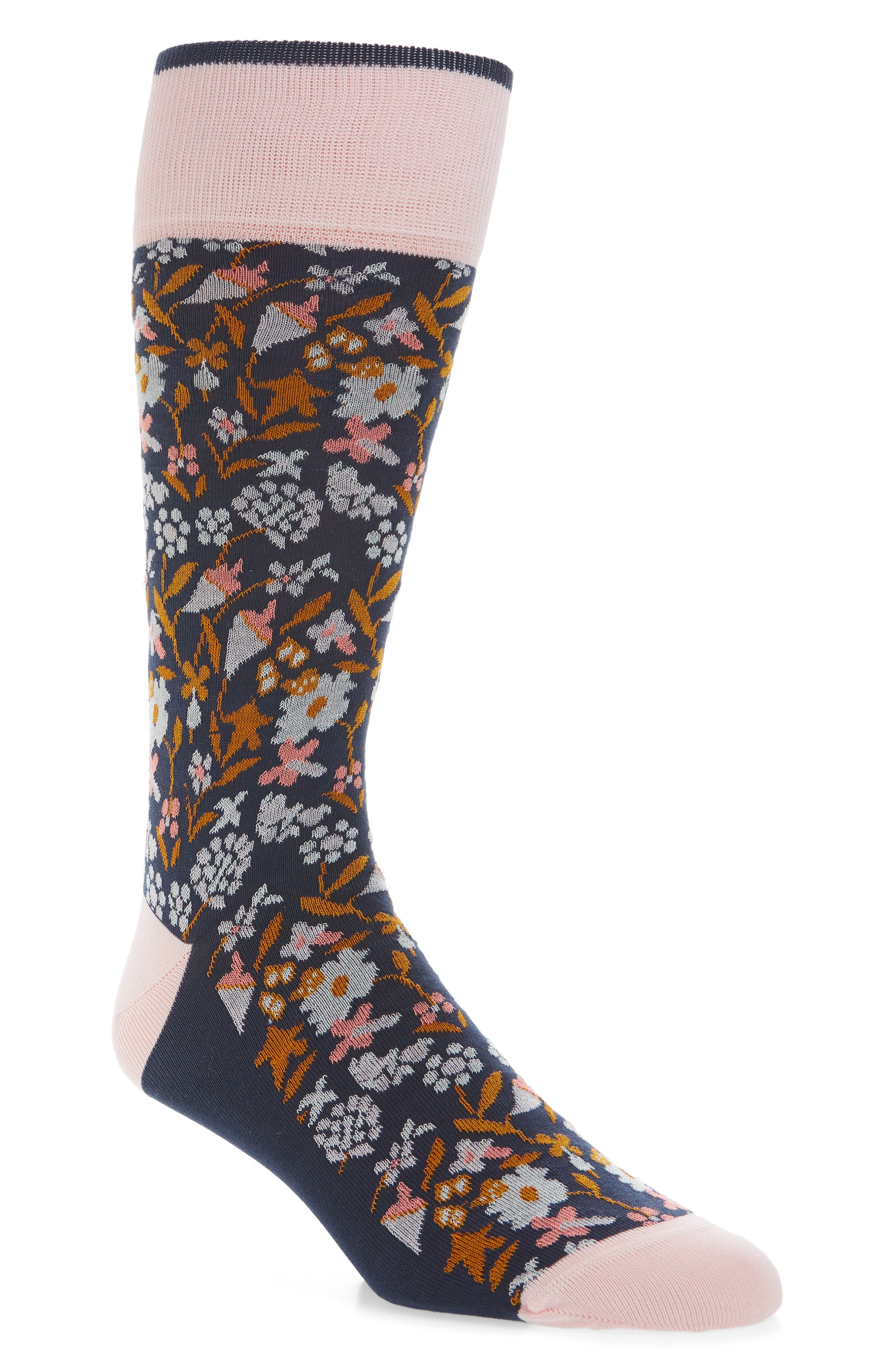 Calibrate Tapestry Floral Socks (3 for $30)