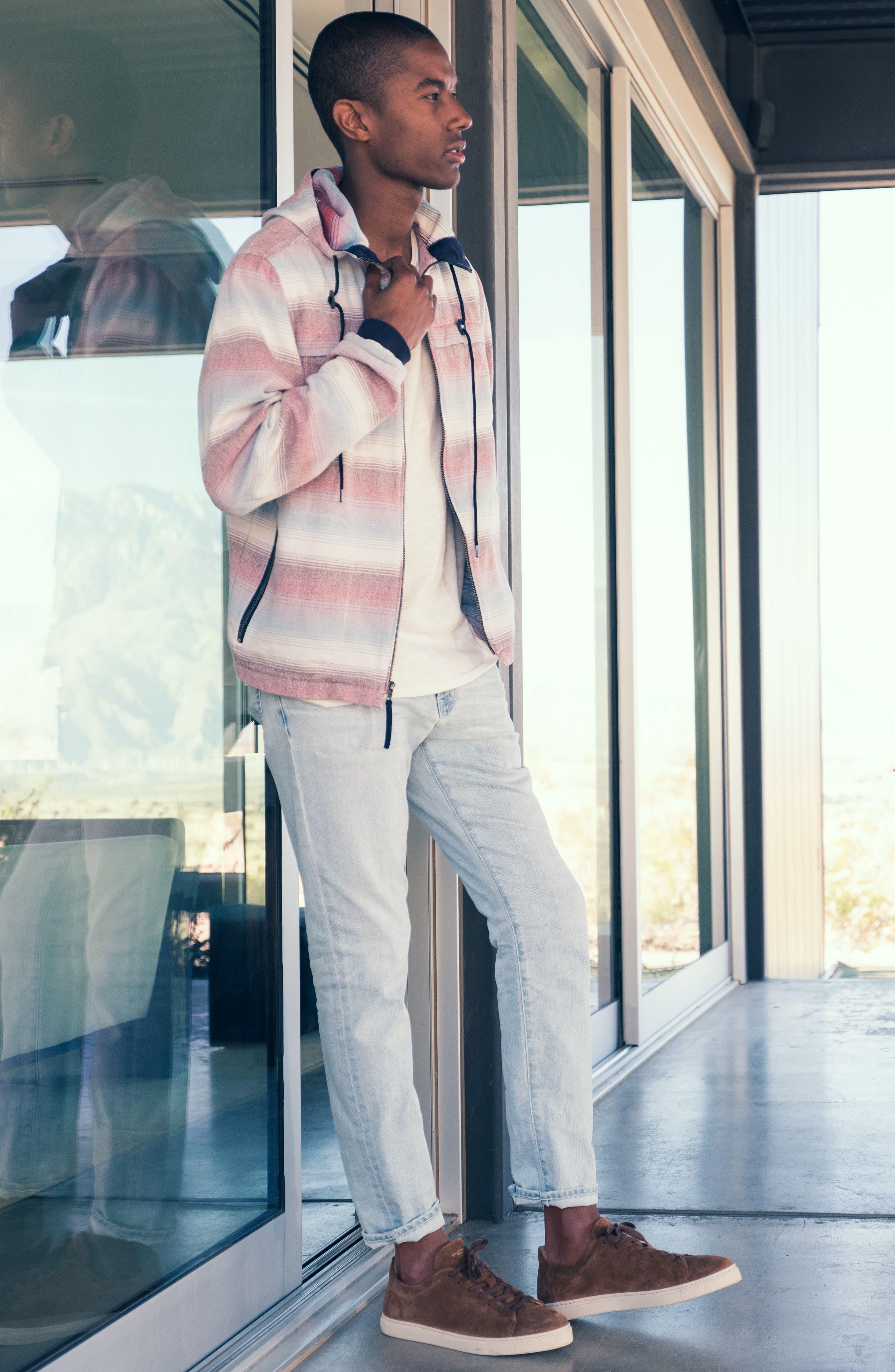 Alternate Image 10  - AG Graduate Slim Straight Leg Jeans (27 Years Bayside)