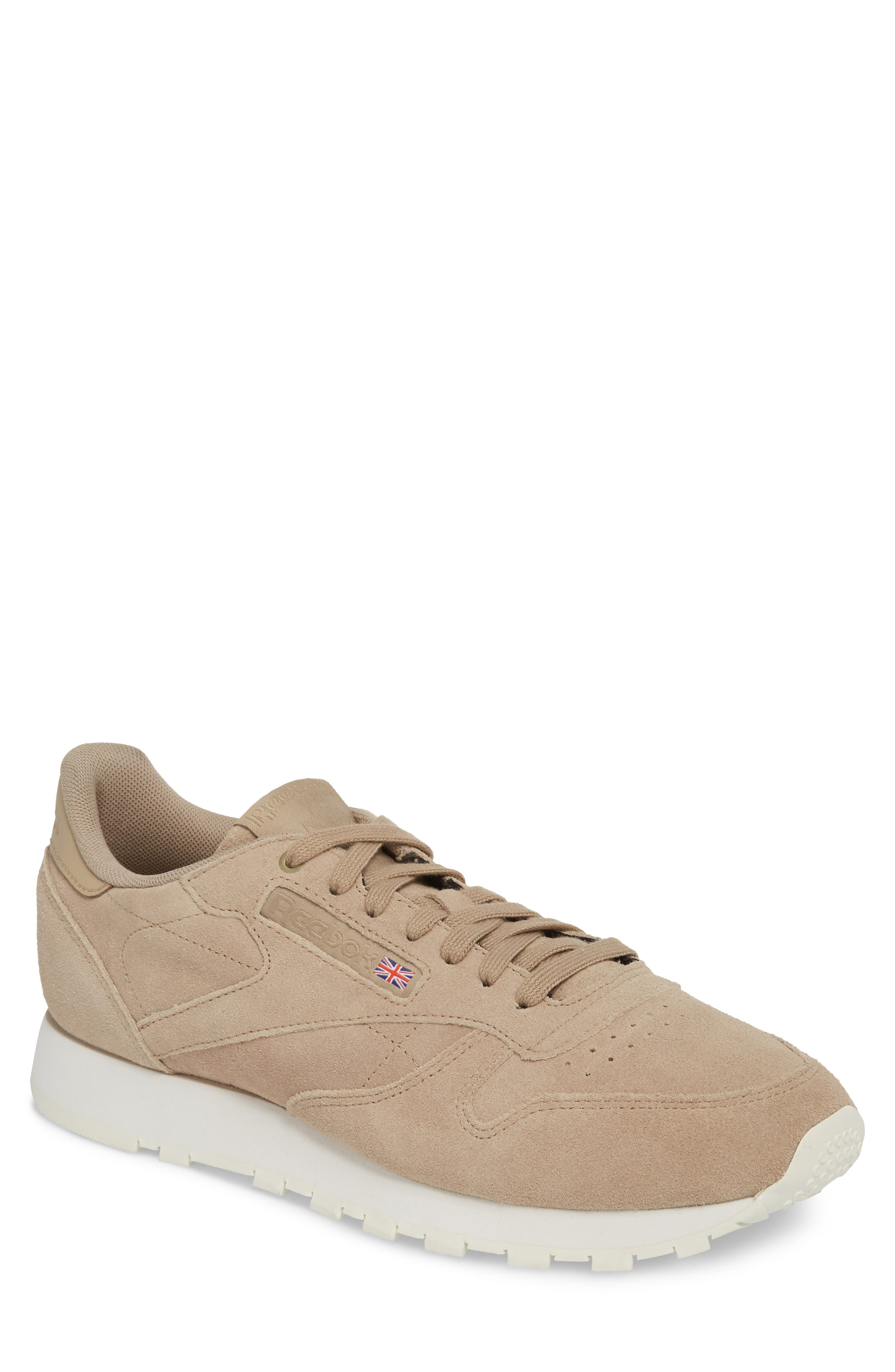 Classic Leather Low Top Sneaker,                         Main,                         color, Duck Season/ Chalk