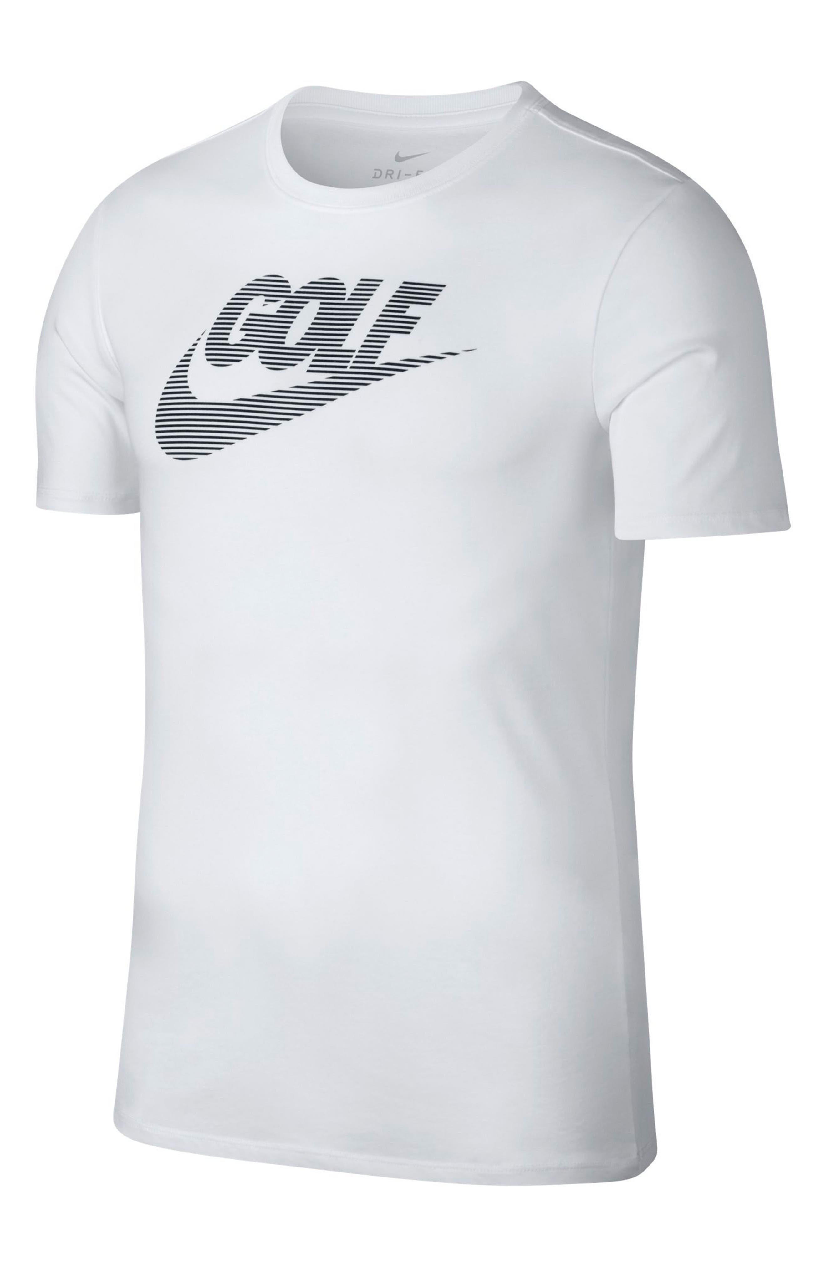 Dry Lockup T-Shirt,                             Alternate thumbnail 6, color,                             White/ Black