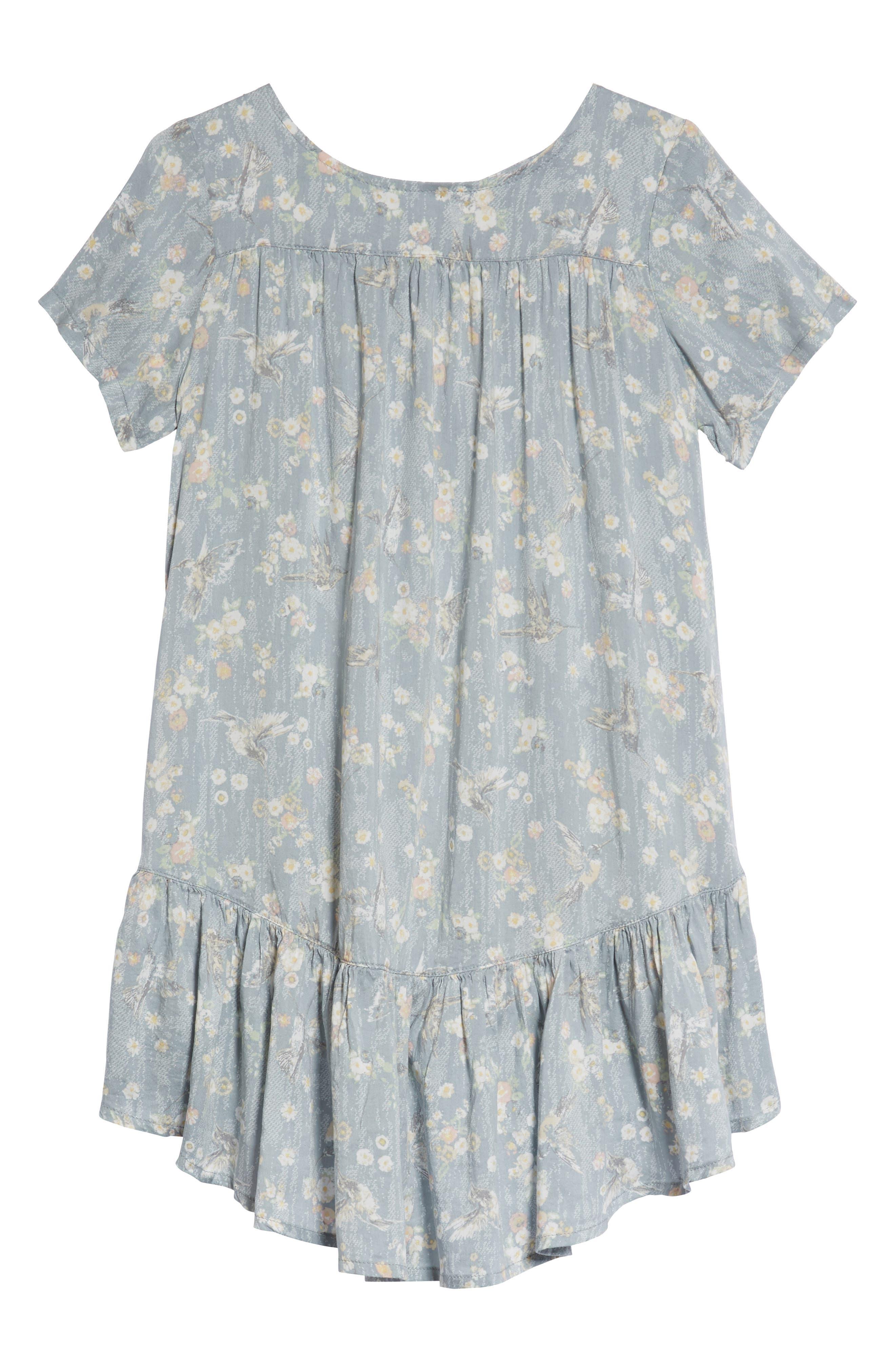 Noemi Swing Dress,                         Main,                         color, Sky
