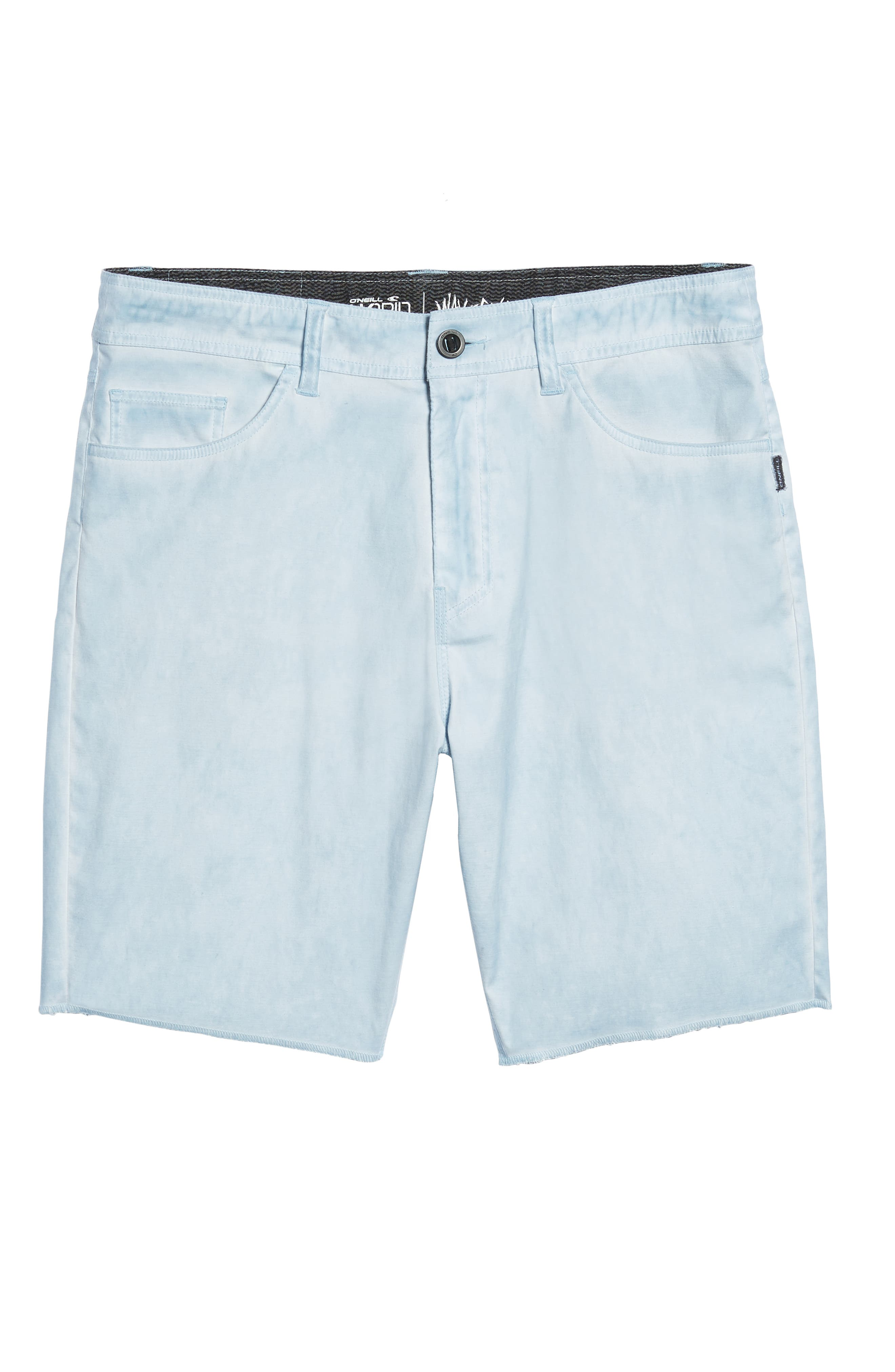 Kick Back Hybrid Shorts,                             Alternate thumbnail 6, color,                             Light Indigo