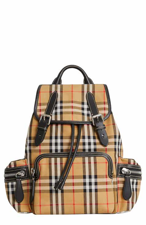 bbaa13bd9a86 Burberry Medium Rucksack Check Cotton Backpack