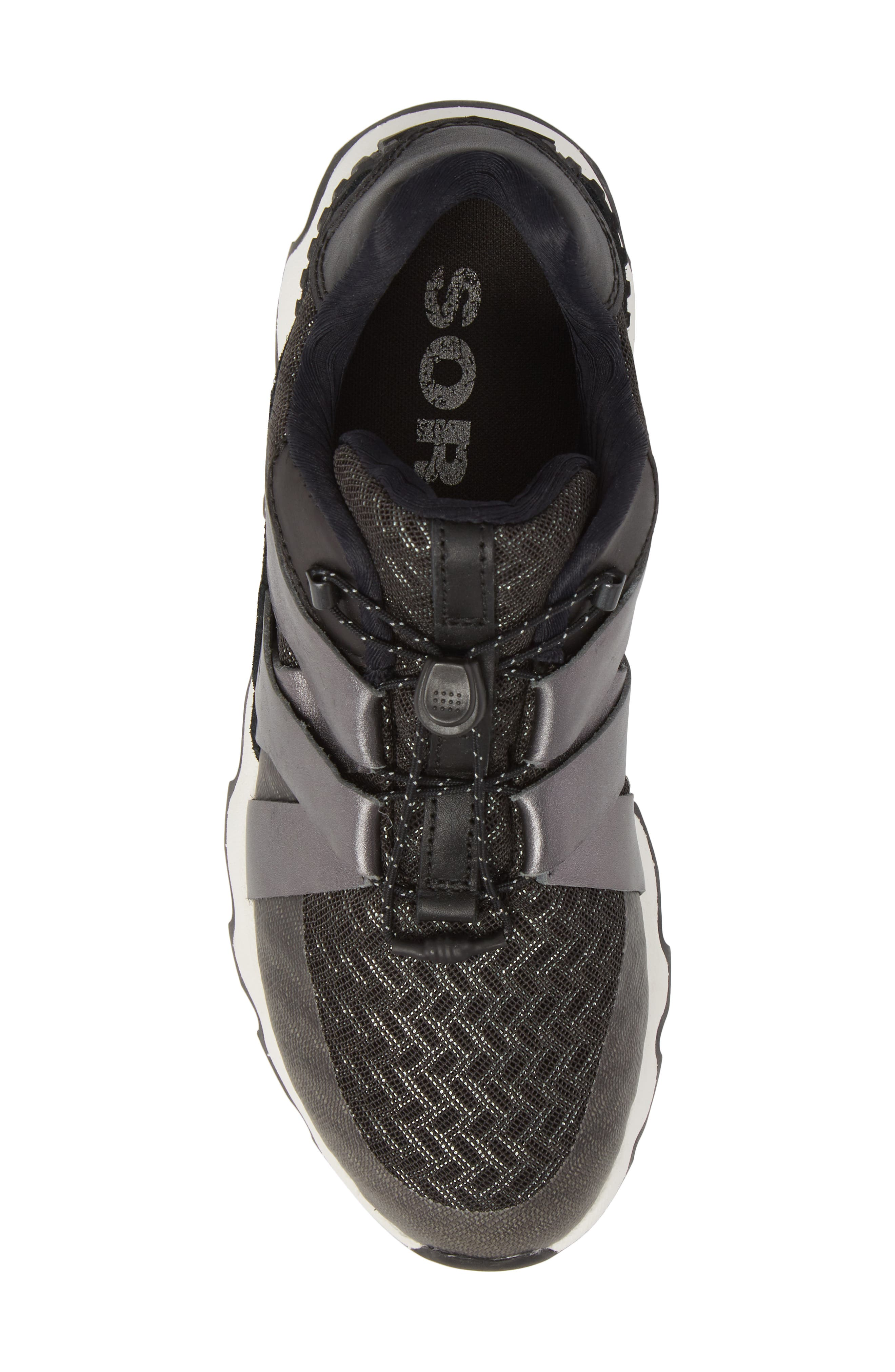Kinetic Speed Sneaker,                             Alternate thumbnail 5, color,                             Black/ Sea Salt