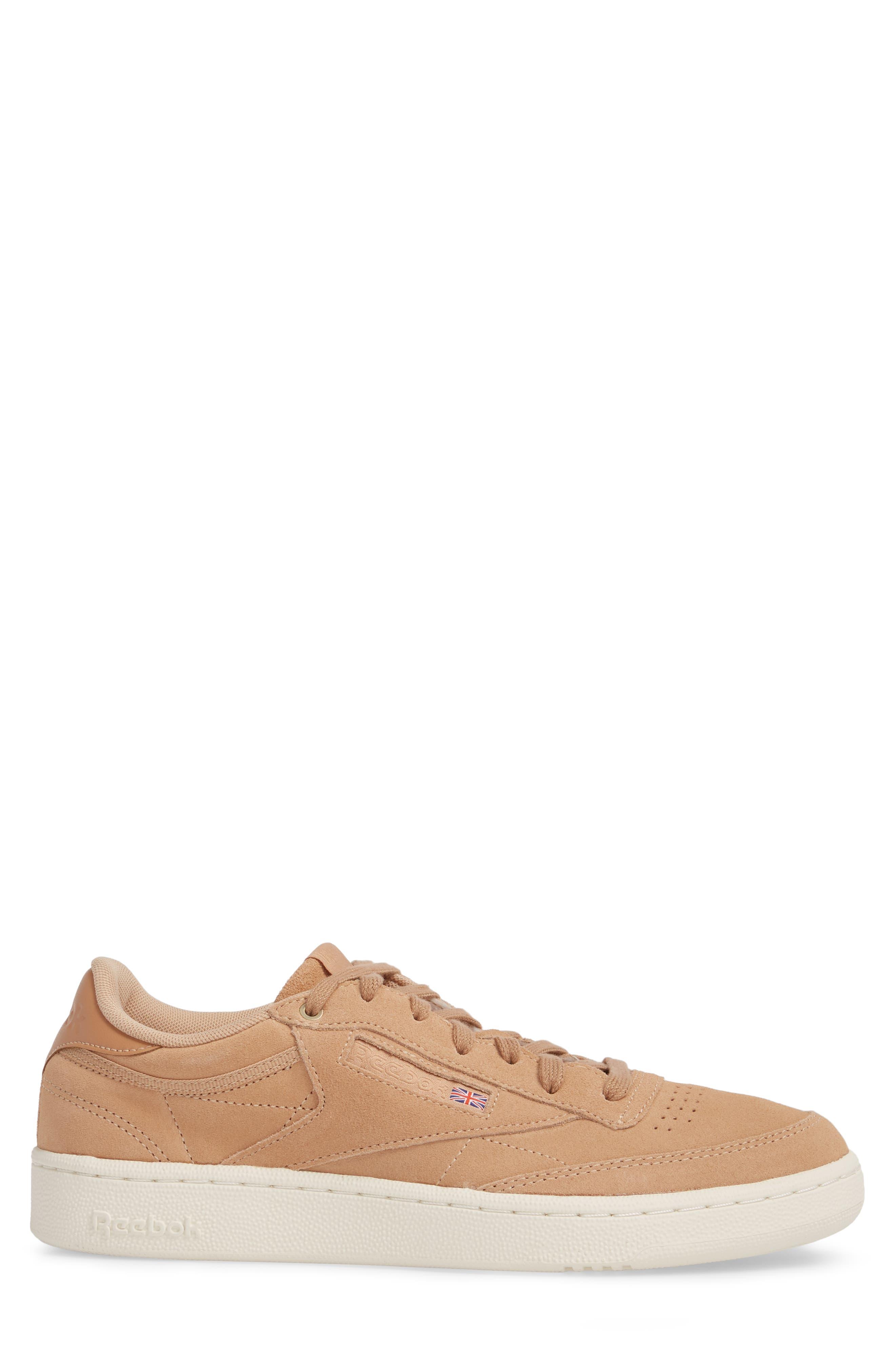Club C 85 MCC Sneaker,                             Alternate thumbnail 3, color,                             Make Up/ Chalk