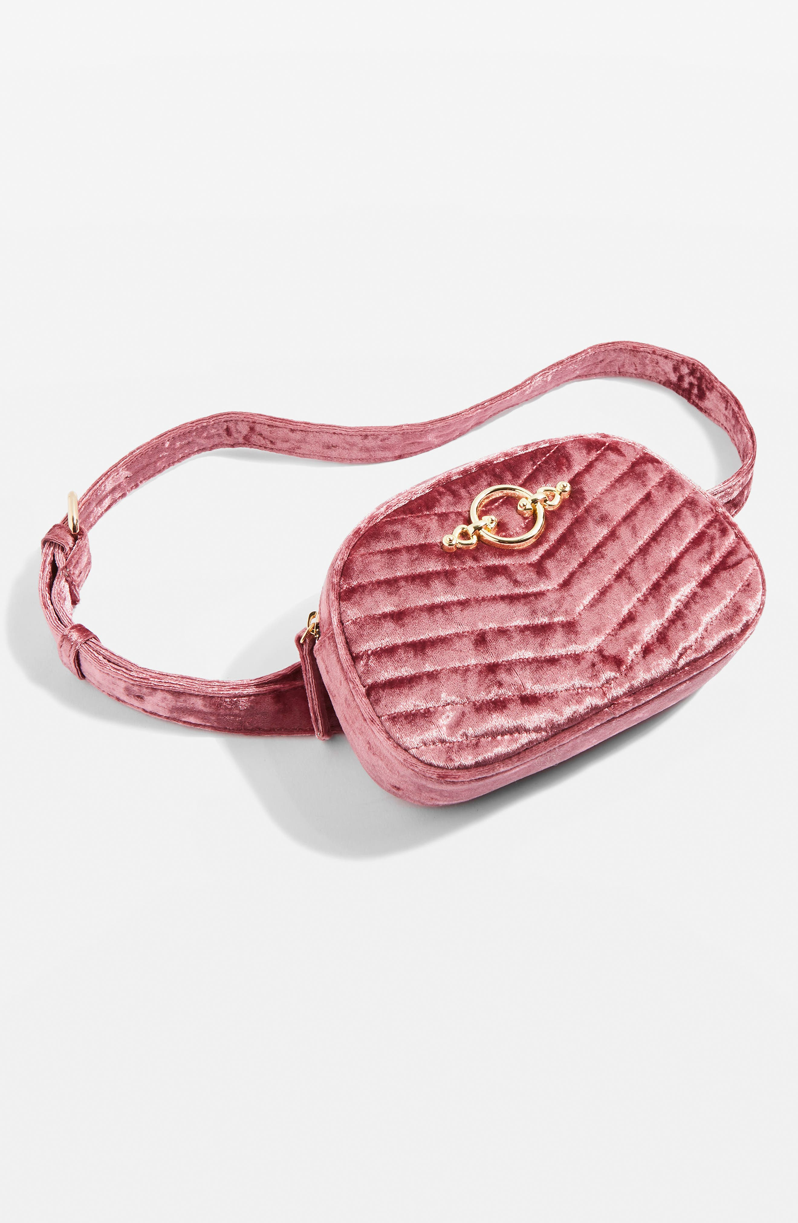 Queenie Quilted Bumbag,                             Alternate thumbnail 7, color,