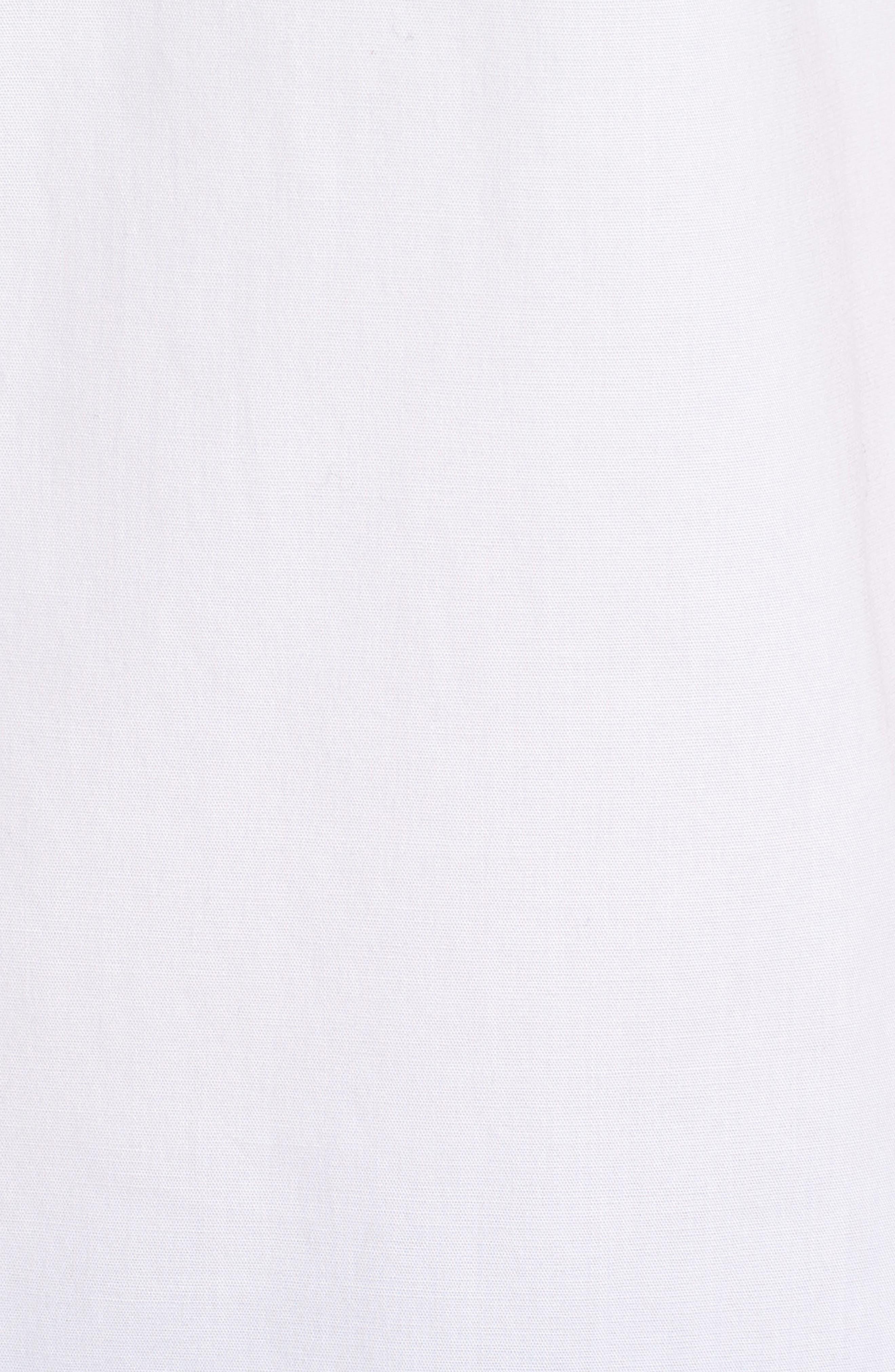 Balasera Stretch Cotton Blouse,                             Alternate thumbnail 6, color,                             White