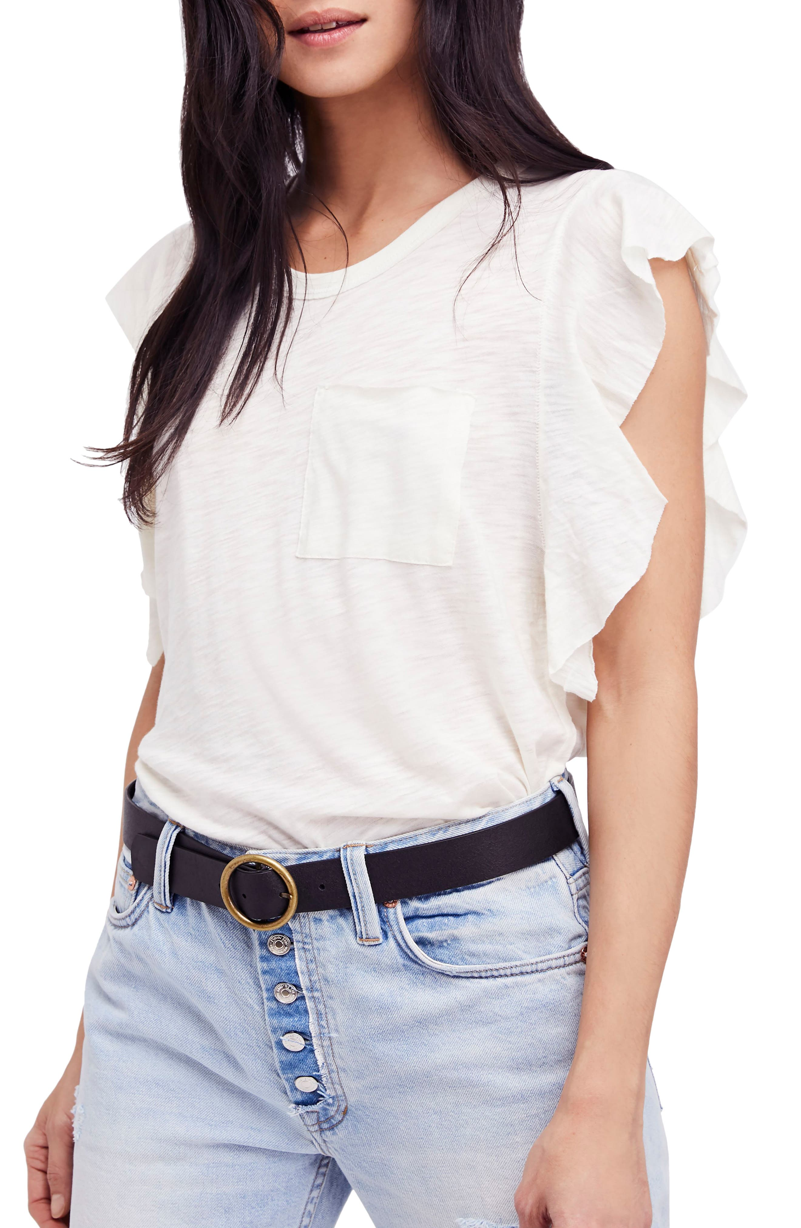 So Easy Tee,                         Main,                         color, Ivory