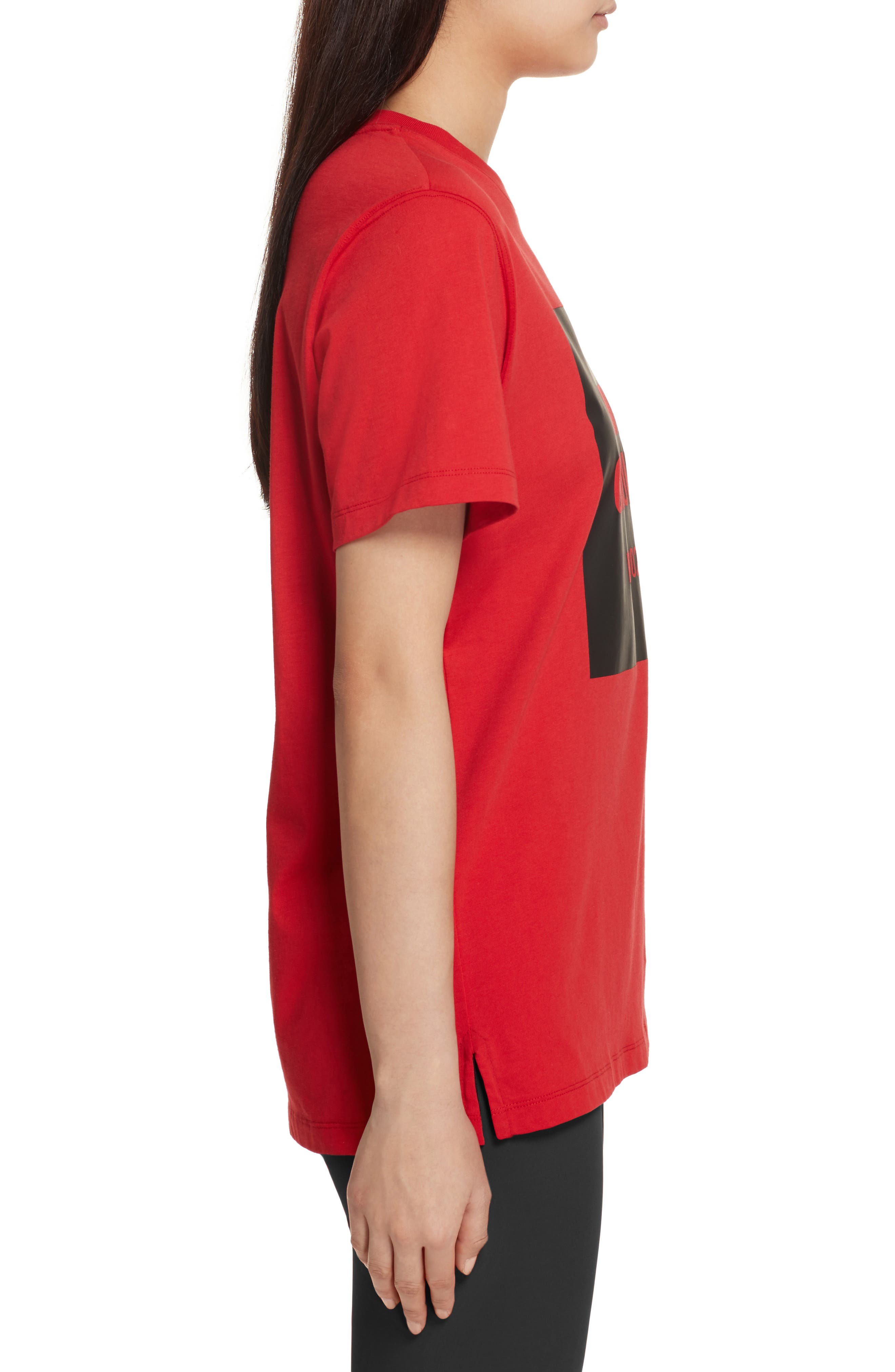 Logo Tee,                             Alternate thumbnail 3, color,                             Torch Red