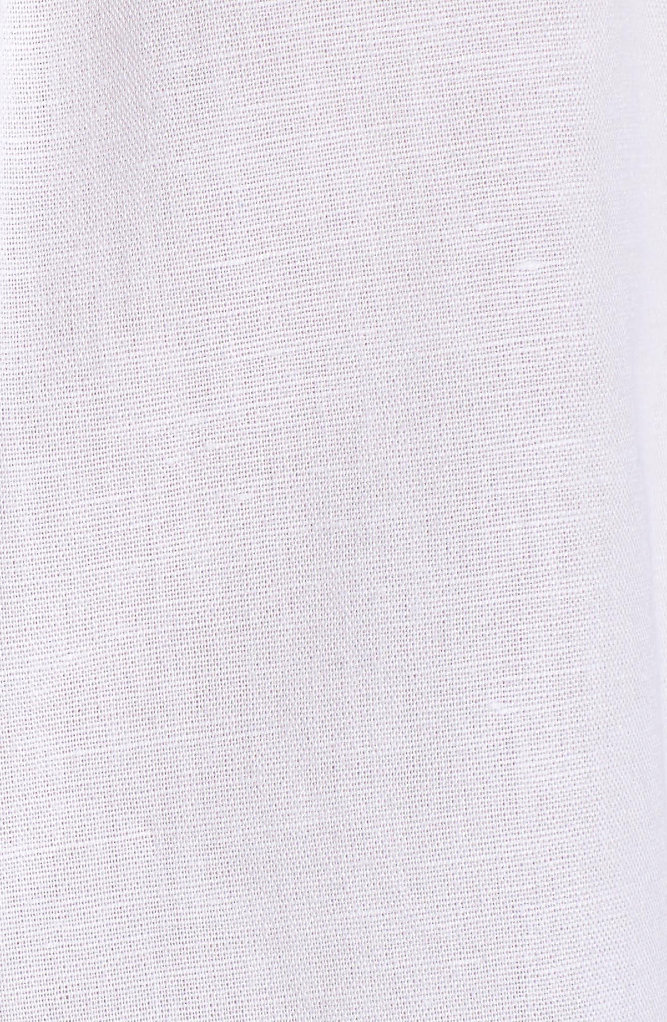 Embellished Tunic Top,                             Alternate thumbnail 6, color,                             White Cap