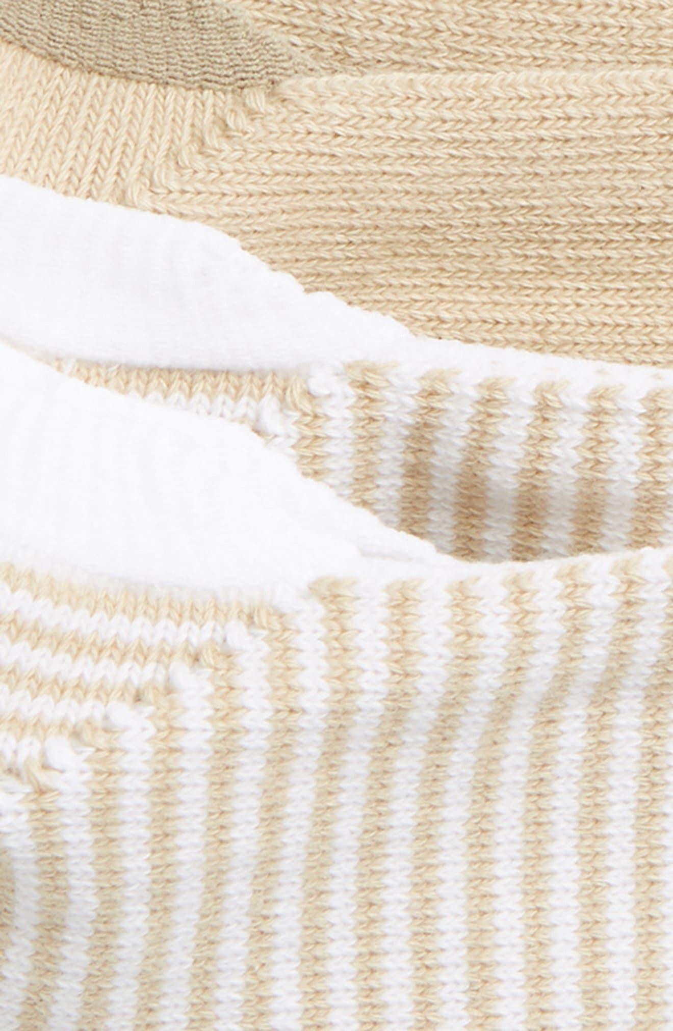2-Pack Liner Socks,                             Alternate thumbnail 2, color,                             Tan Nomad/ White