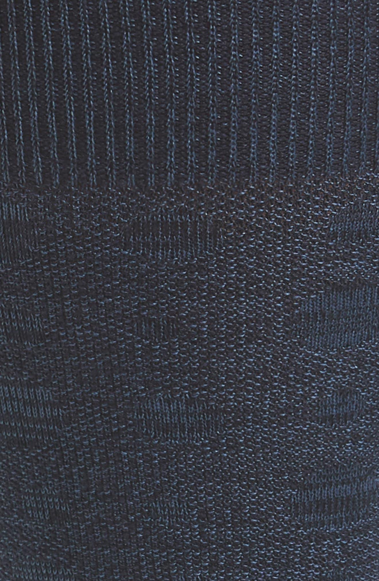 Dot Socks,                             Alternate thumbnail 2, color,                             Navy Marl