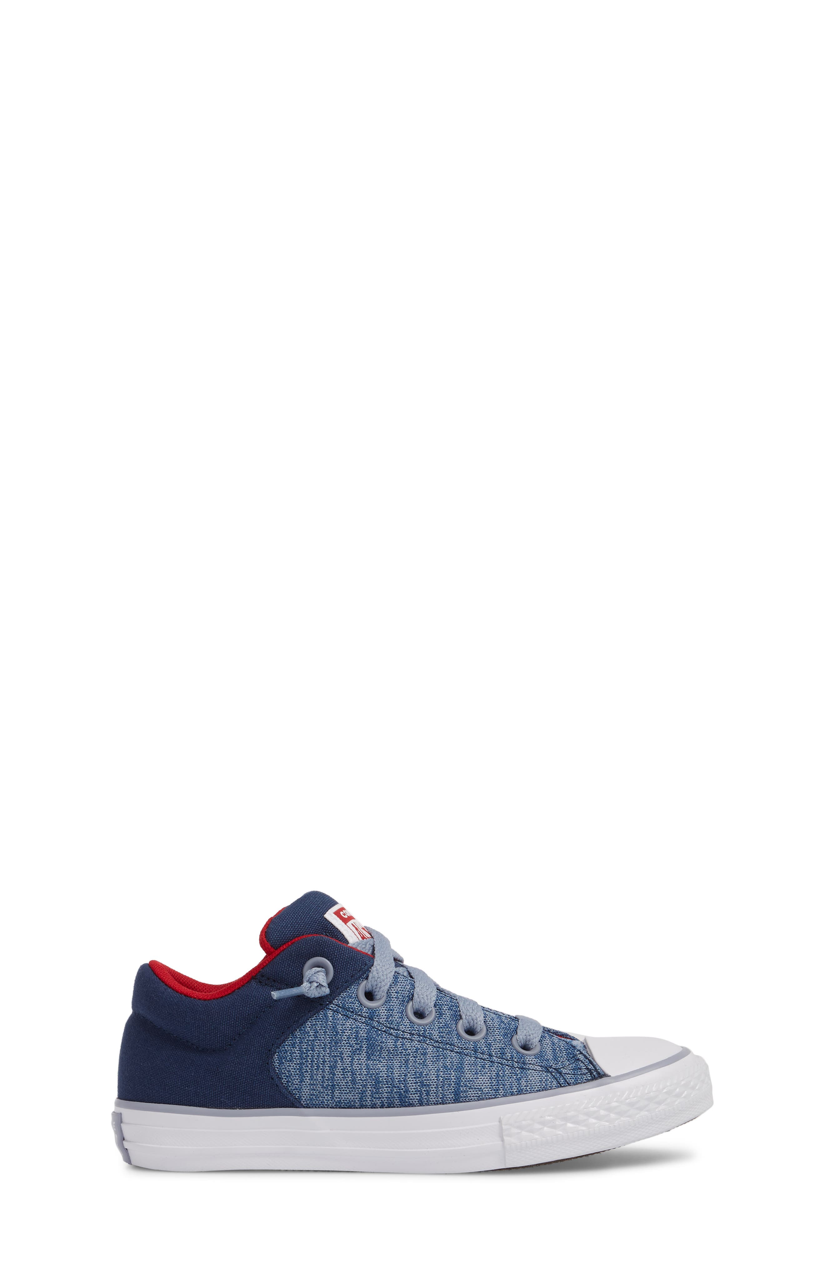 One Star Heather Street Sneaker,                             Alternate thumbnail 3, color,                             Navy