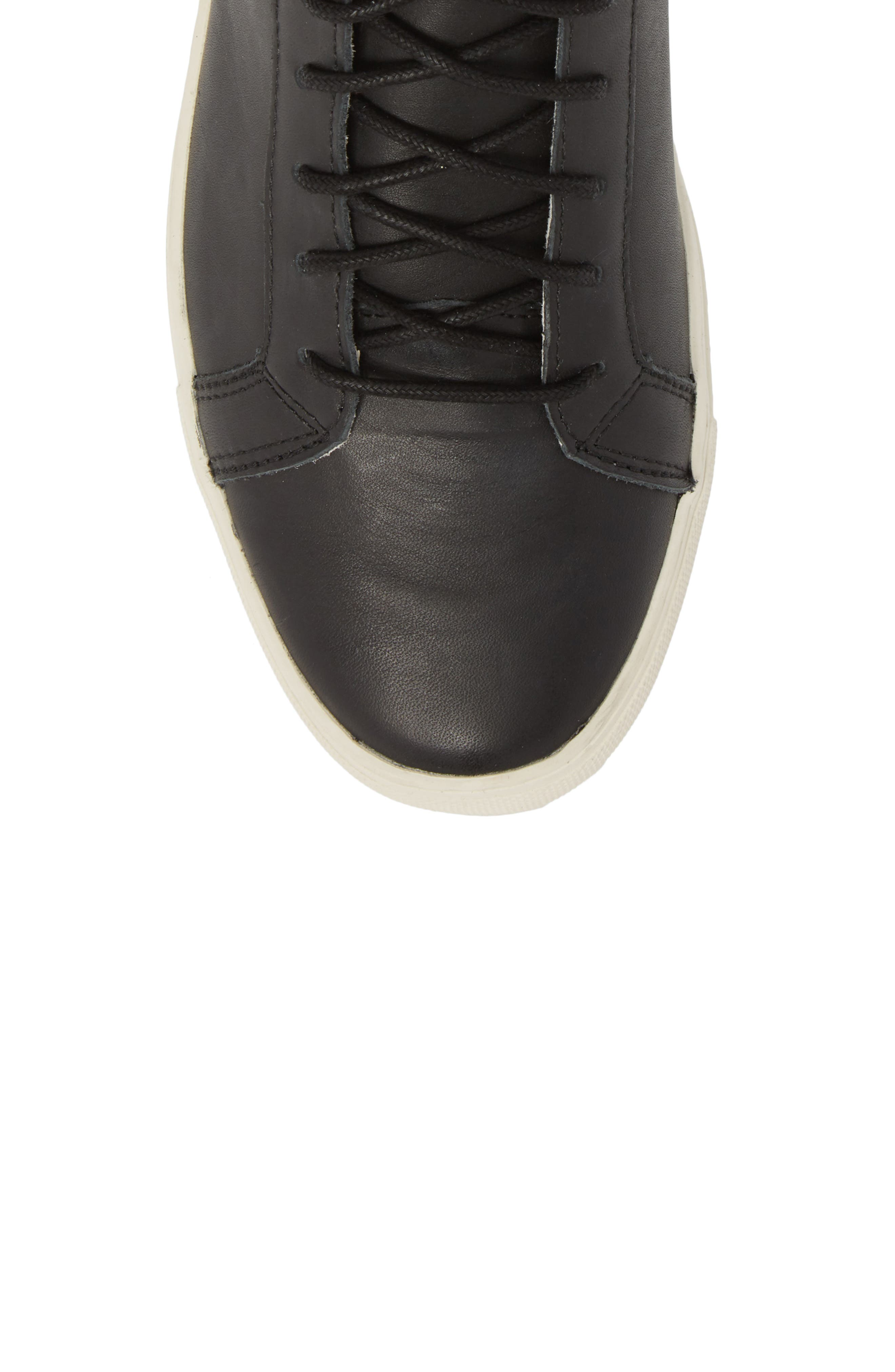 Logan Water Resistant High Top Sneaker,                             Alternate thumbnail 5, color,                             Kettle Leather