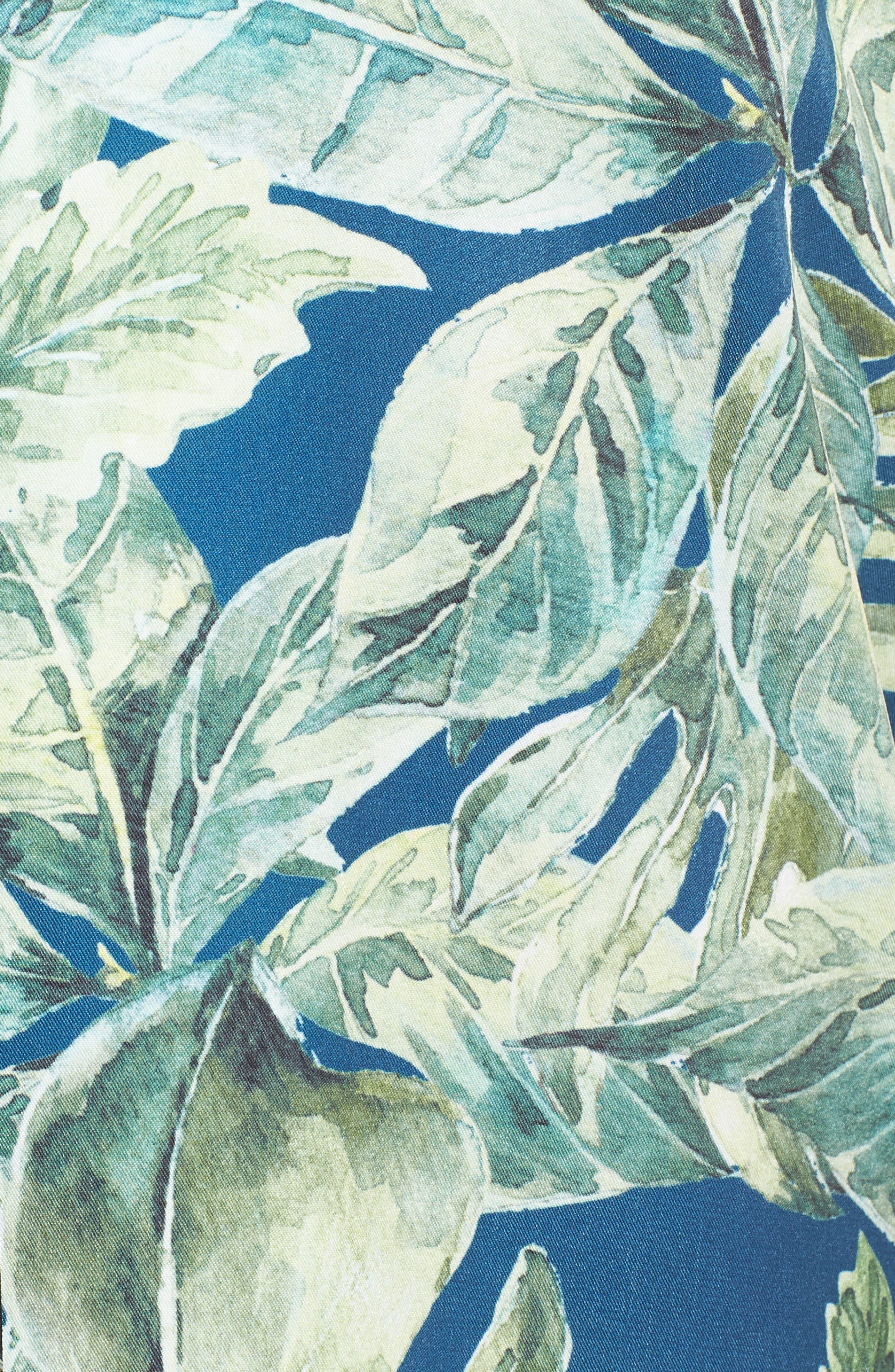 Boyfriend Nightshirt,                             Alternate thumbnail 5, color,                             Pacific Palm