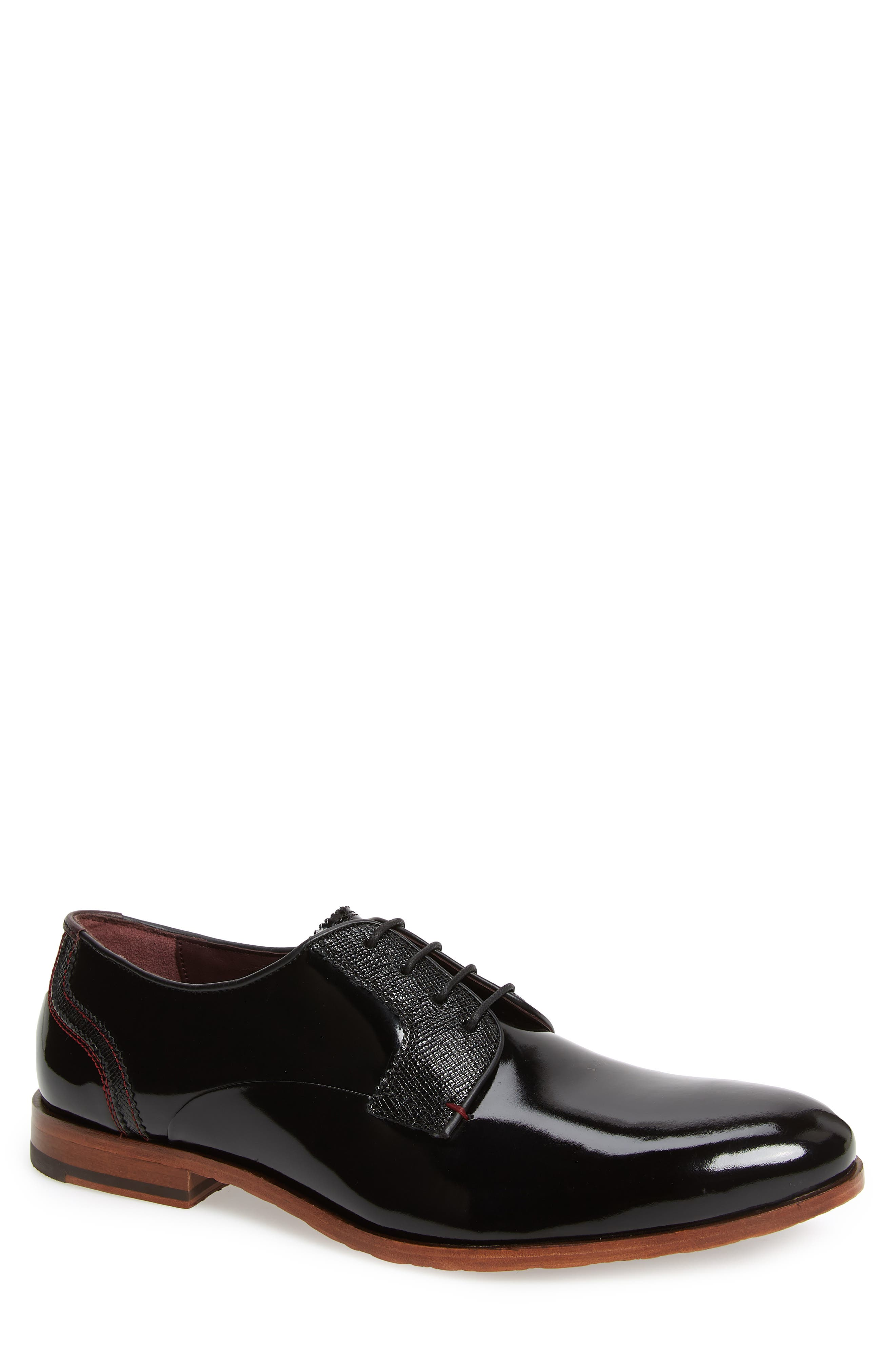 Ted Baker London Irontp Plain Toe Derby (Men)