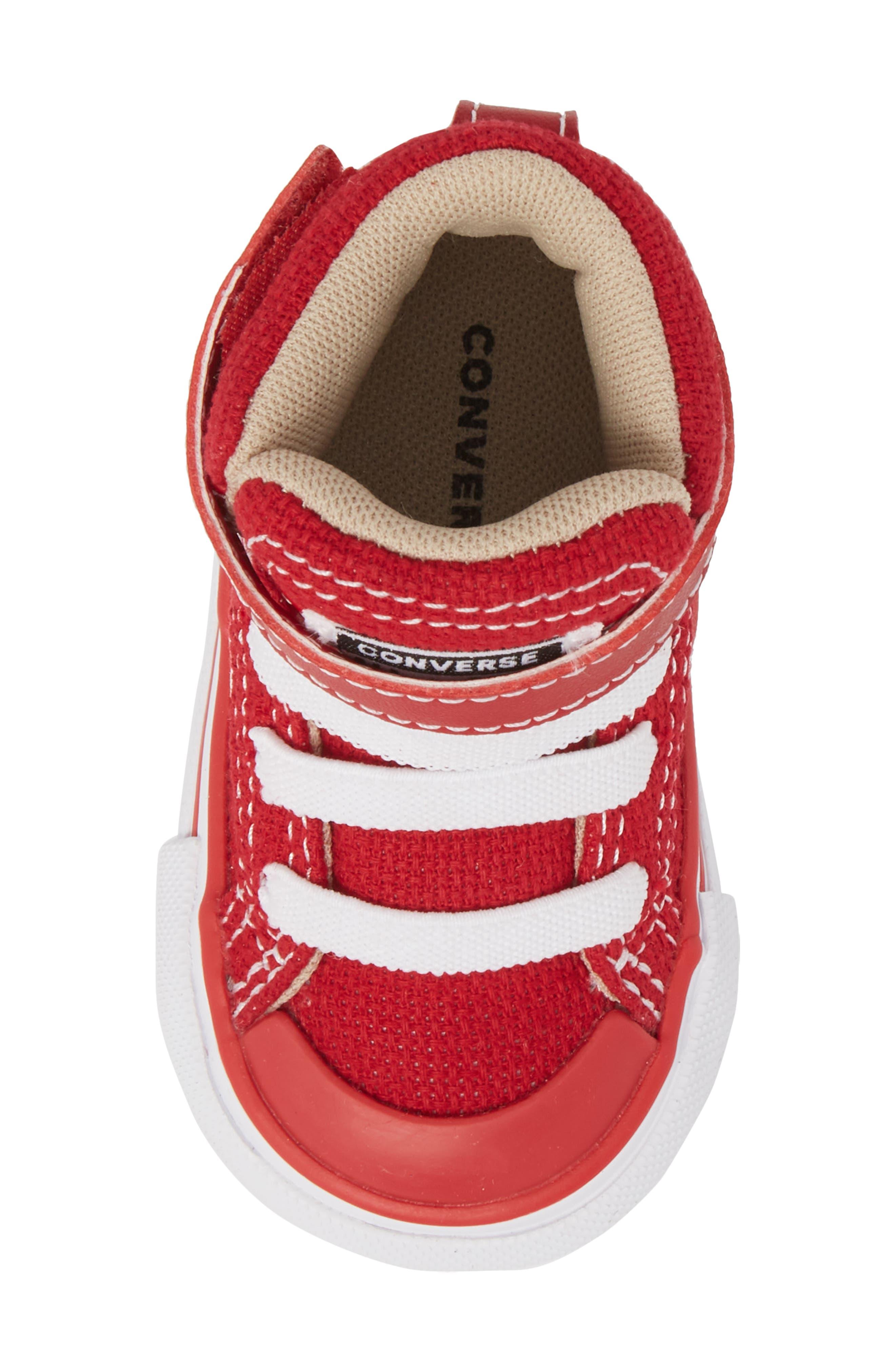 Pro Blaze High Top Sneaker,                             Alternate thumbnail 5, color,                             Gym Red