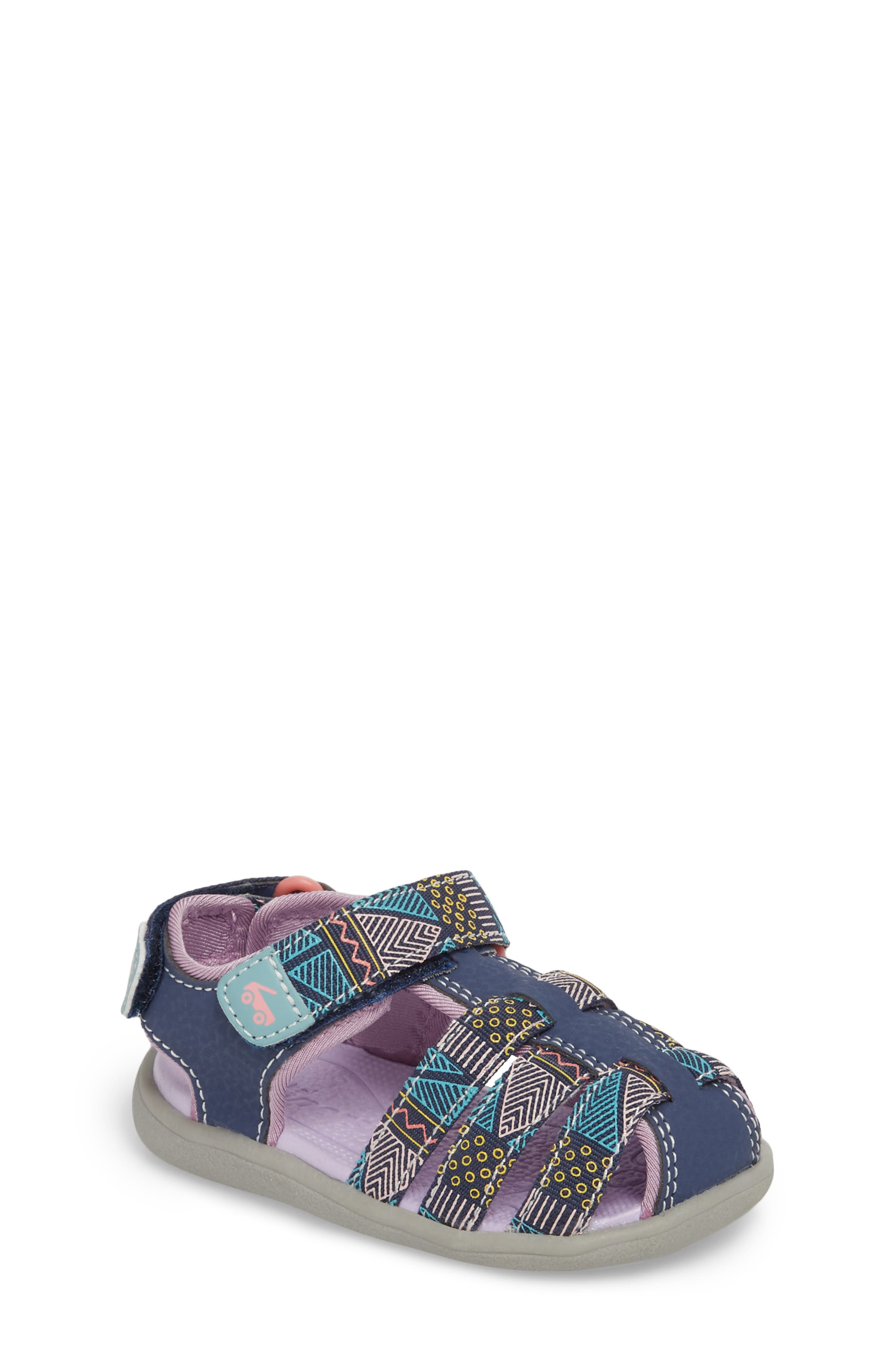 Main Image - See Kai Run Paley Fisherman Sandal (Baby, Walker & Toddler)