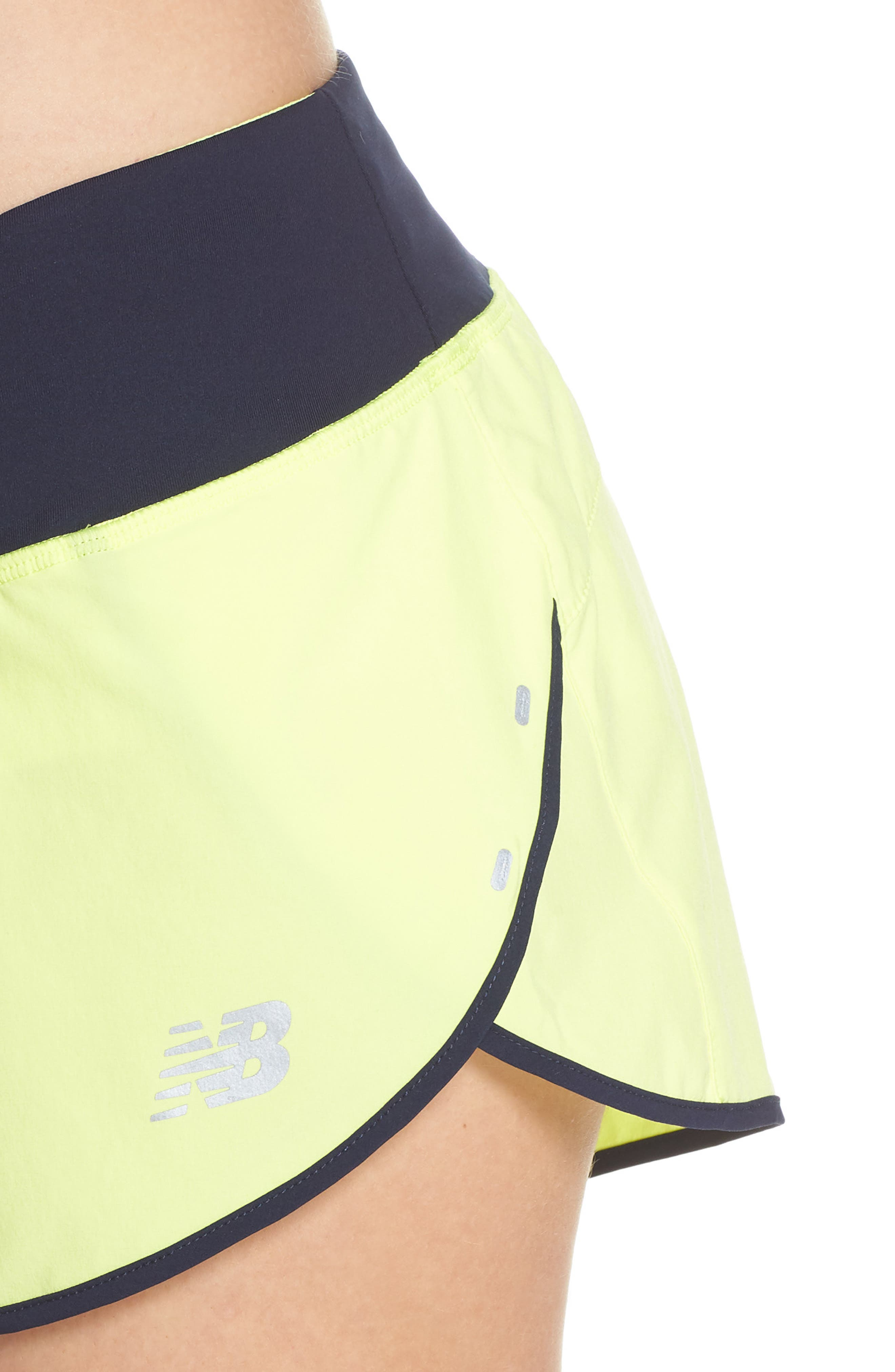 Impact 3 Shorts,                             Alternate thumbnail 4, color,                             Solar Yellow