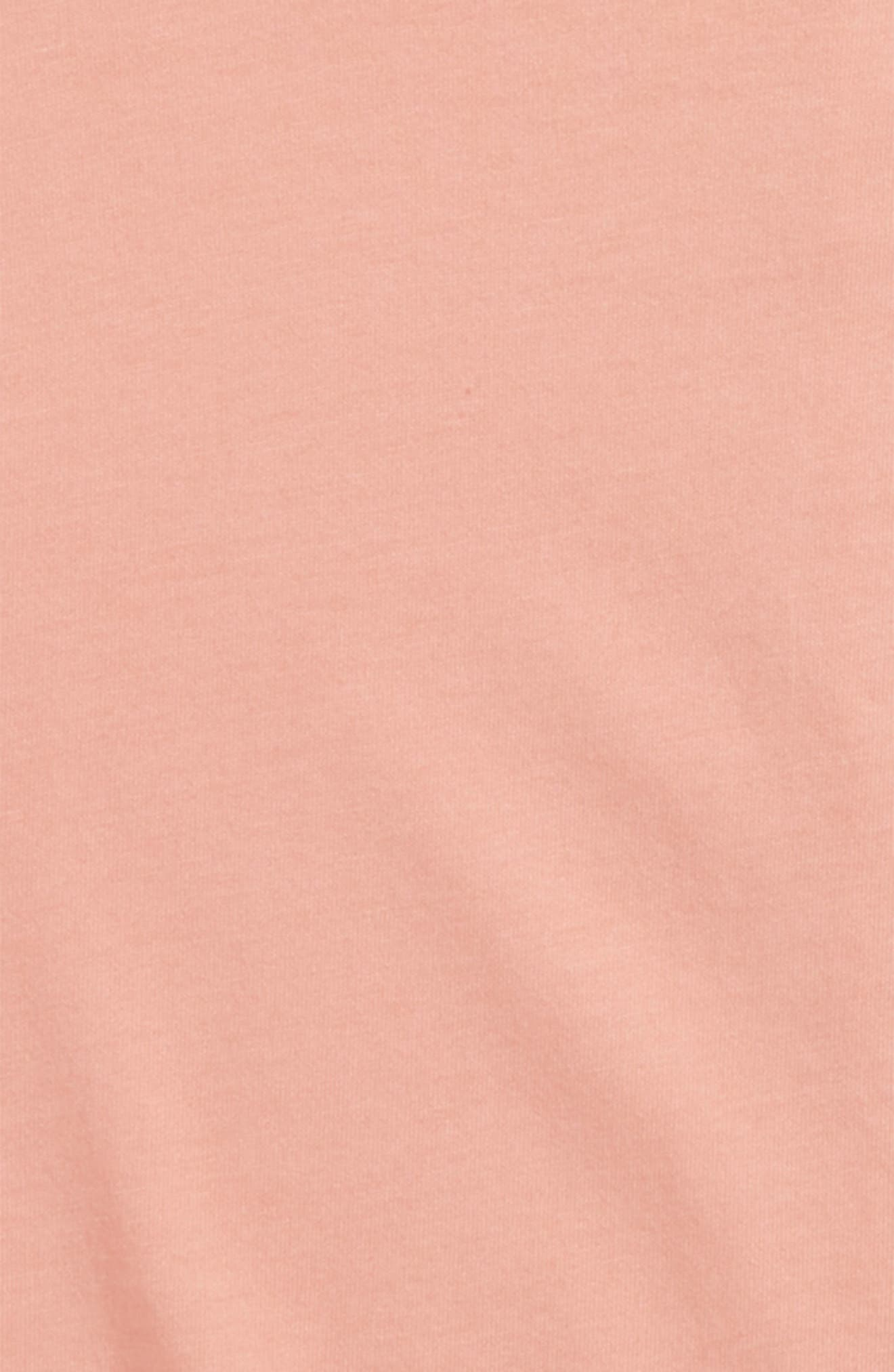 Isla Roll Cuff Tee,                             Alternate thumbnail 2, color,                             Light Pink