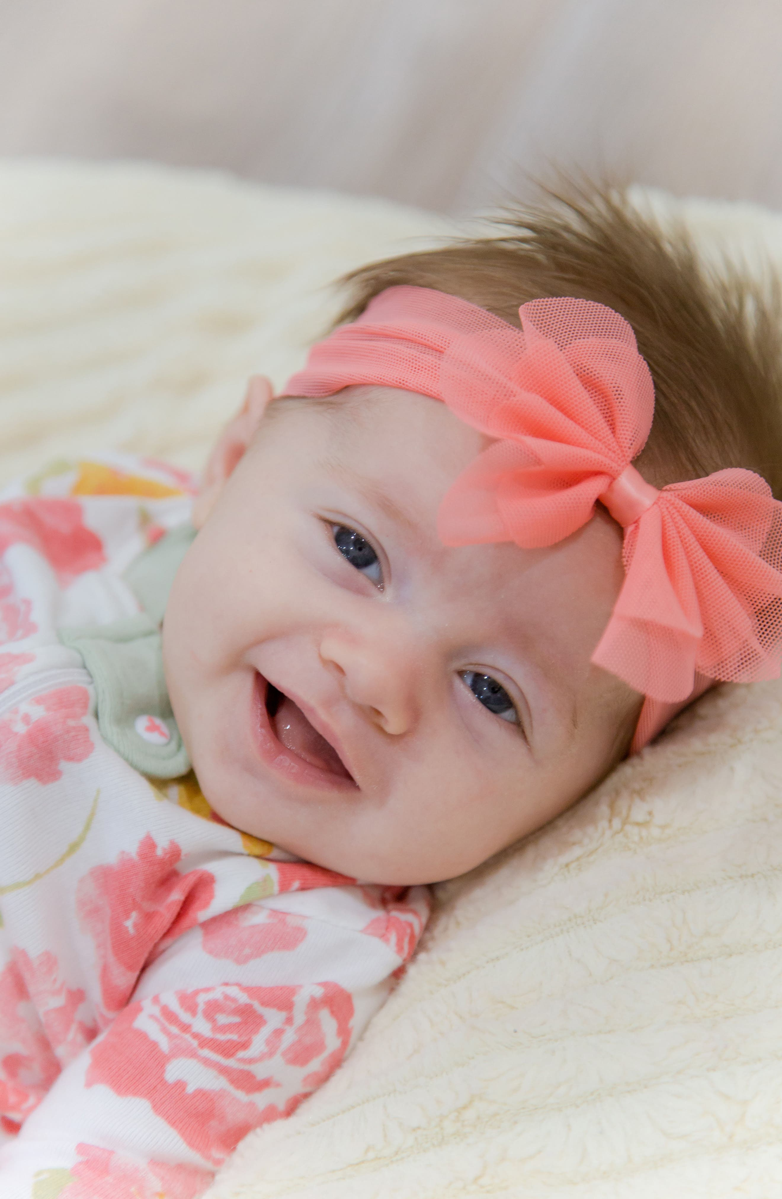 Alternate Image 4  - PLH Bows & Laces Mesh Bow Headband