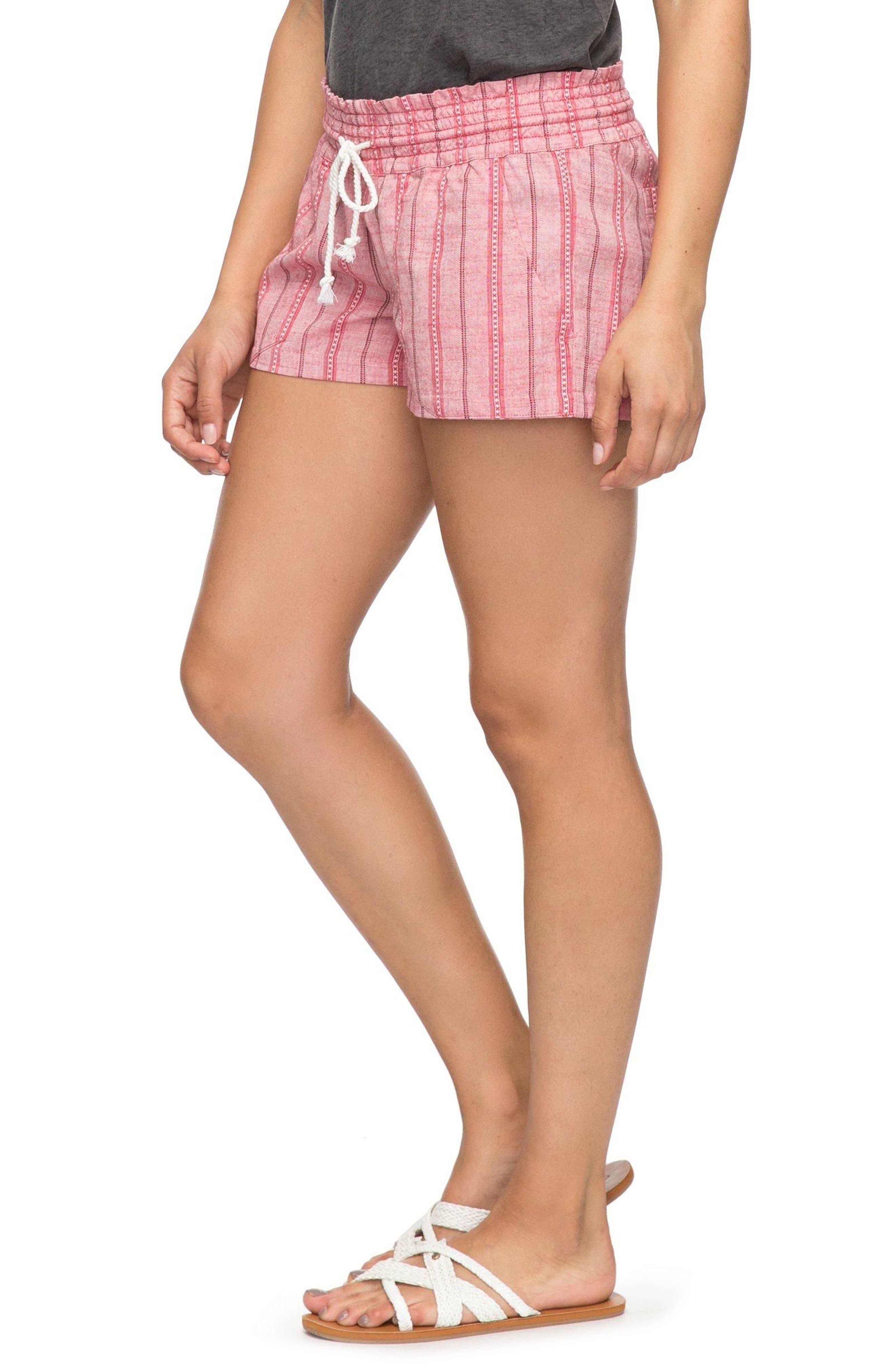 Oceanside Beach Shorts,                             Alternate thumbnail 4, color,                             Holly Berry South Border