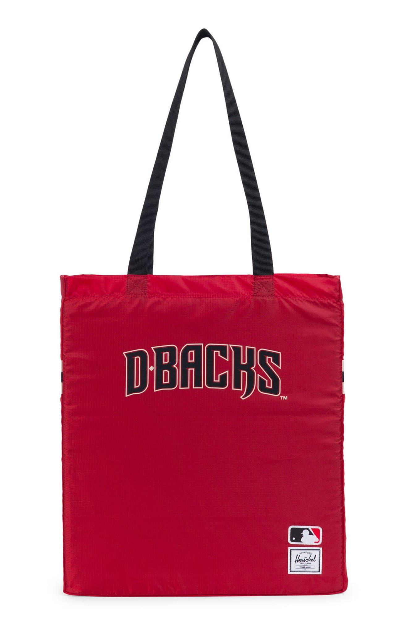 Packable - MLB National League Tote Bag,                             Main thumbnail 1, color,                             Arizona Diamondbacks