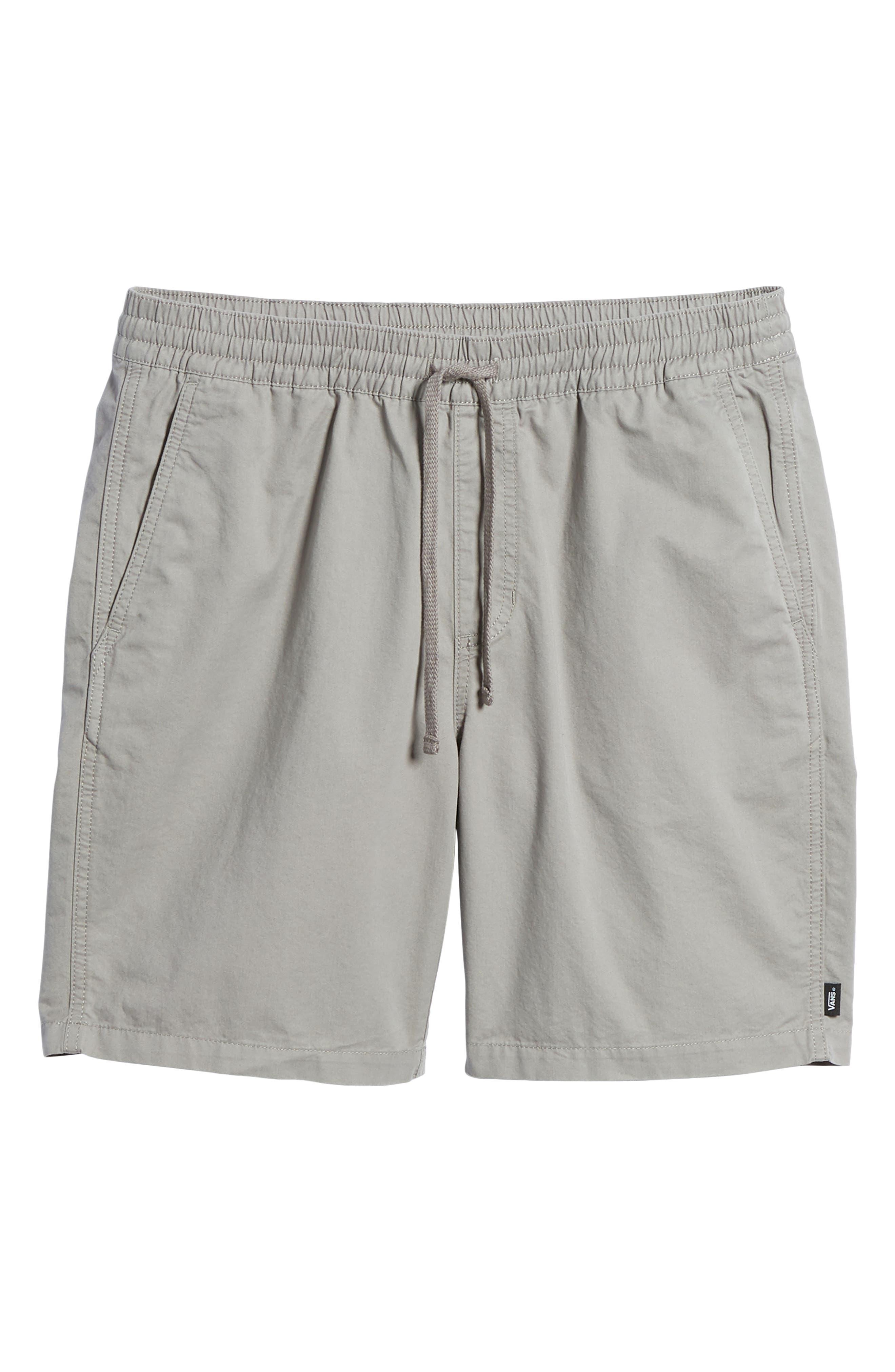 Range Drawstring Shorts,                             Alternate thumbnail 6, color,                             Frost Grey