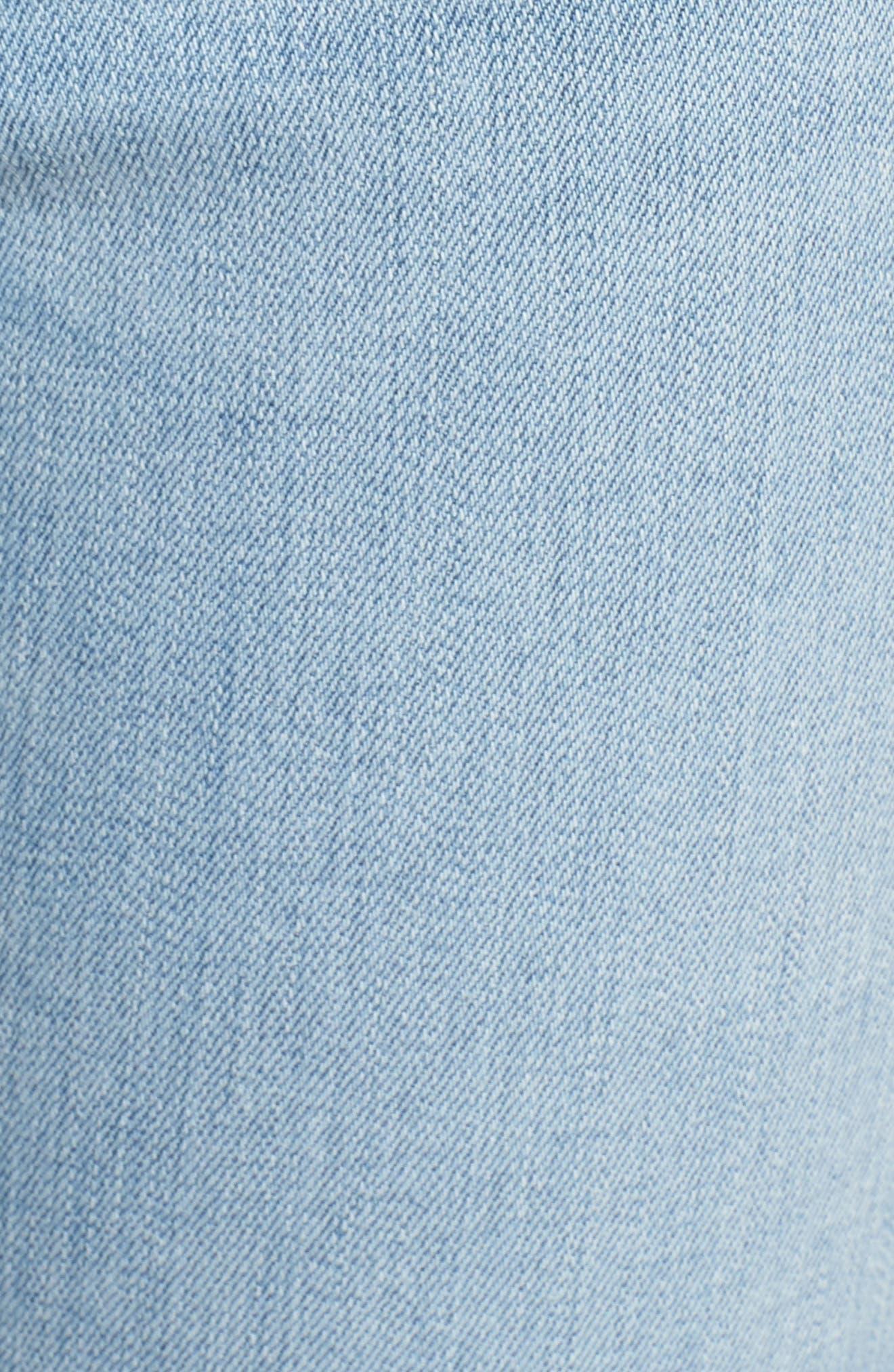 Hudson Barbara High Waist Ankle Skinny Jeans,                             Alternate thumbnail 6, color,                             Gemini
