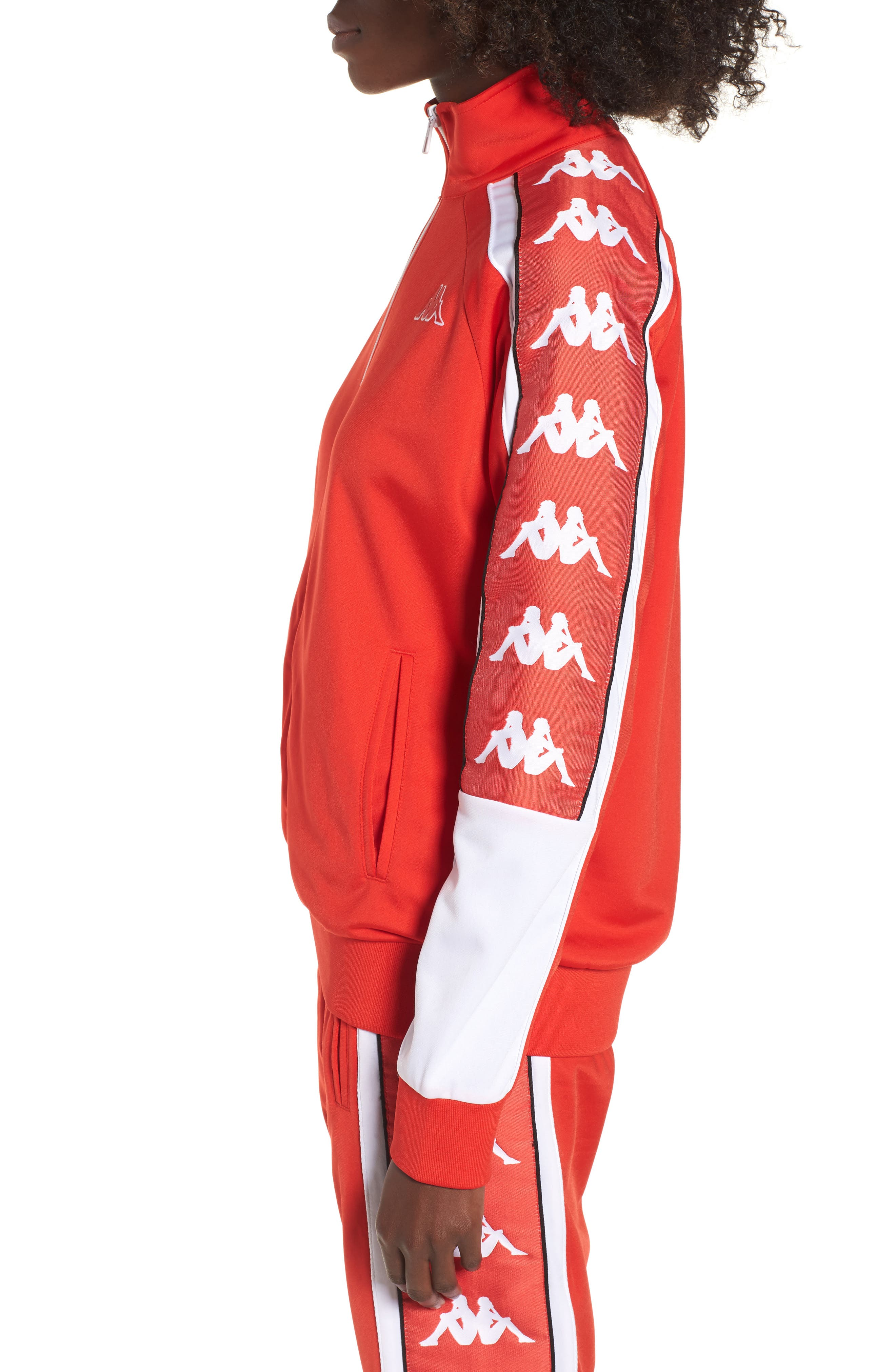 222 Banda 10 Anay Jacket,                             Alternate thumbnail 3, color,                             Red Flame -White