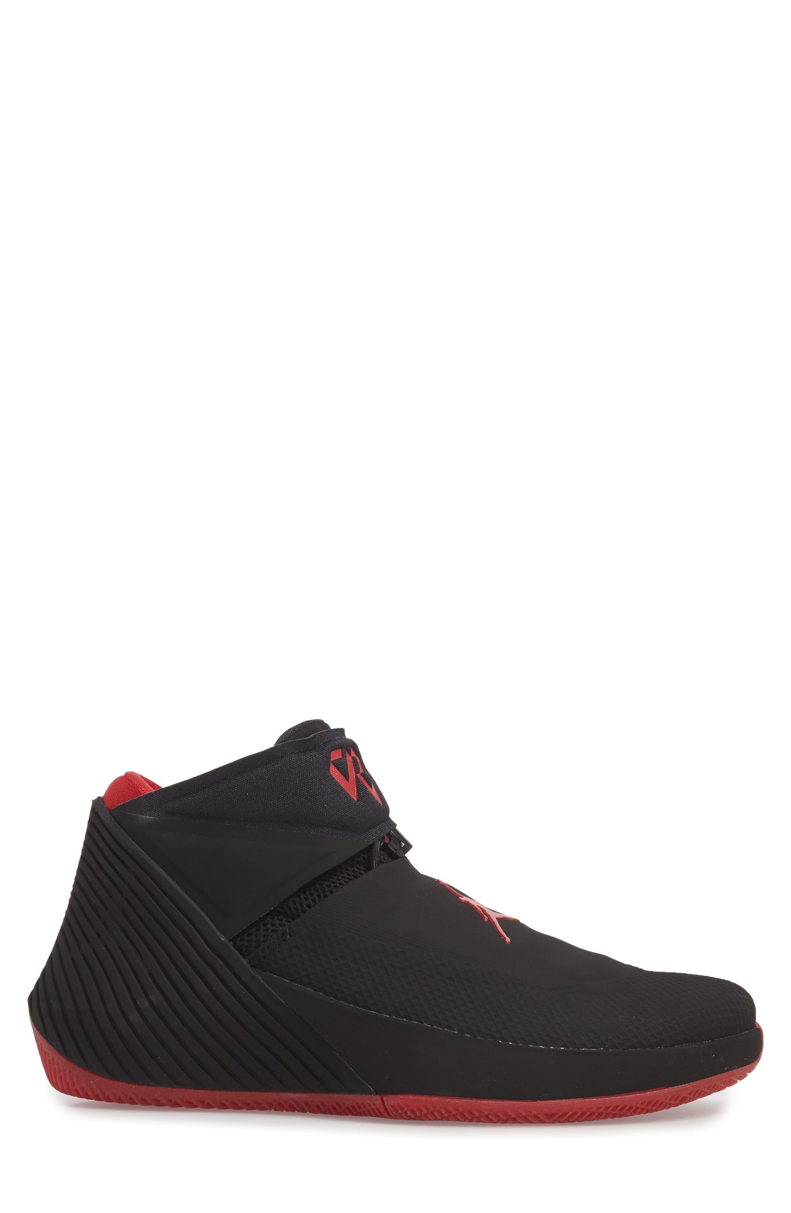 Jordan 'Why Not?' Zero.1 Basketball Shoe,                             Alternate thumbnail 3, color,                             Black/ Hyper Royal
