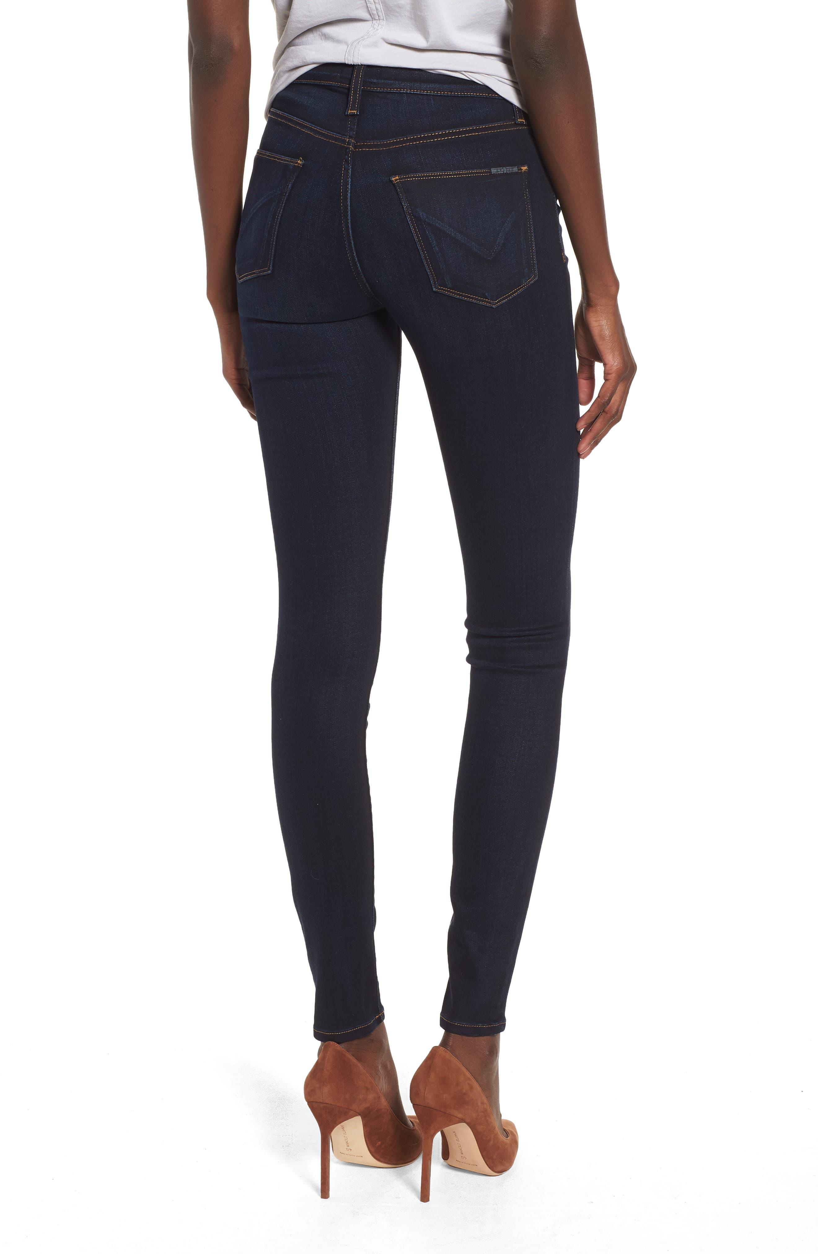 Barbara High Waist Ankle Supermodel Skinny Jeans,                             Alternate thumbnail 2, color,                             Calvary
