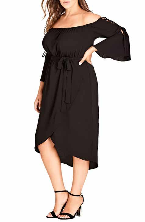Womens Off The Shoulder Plus Size Dresses Nordstrom