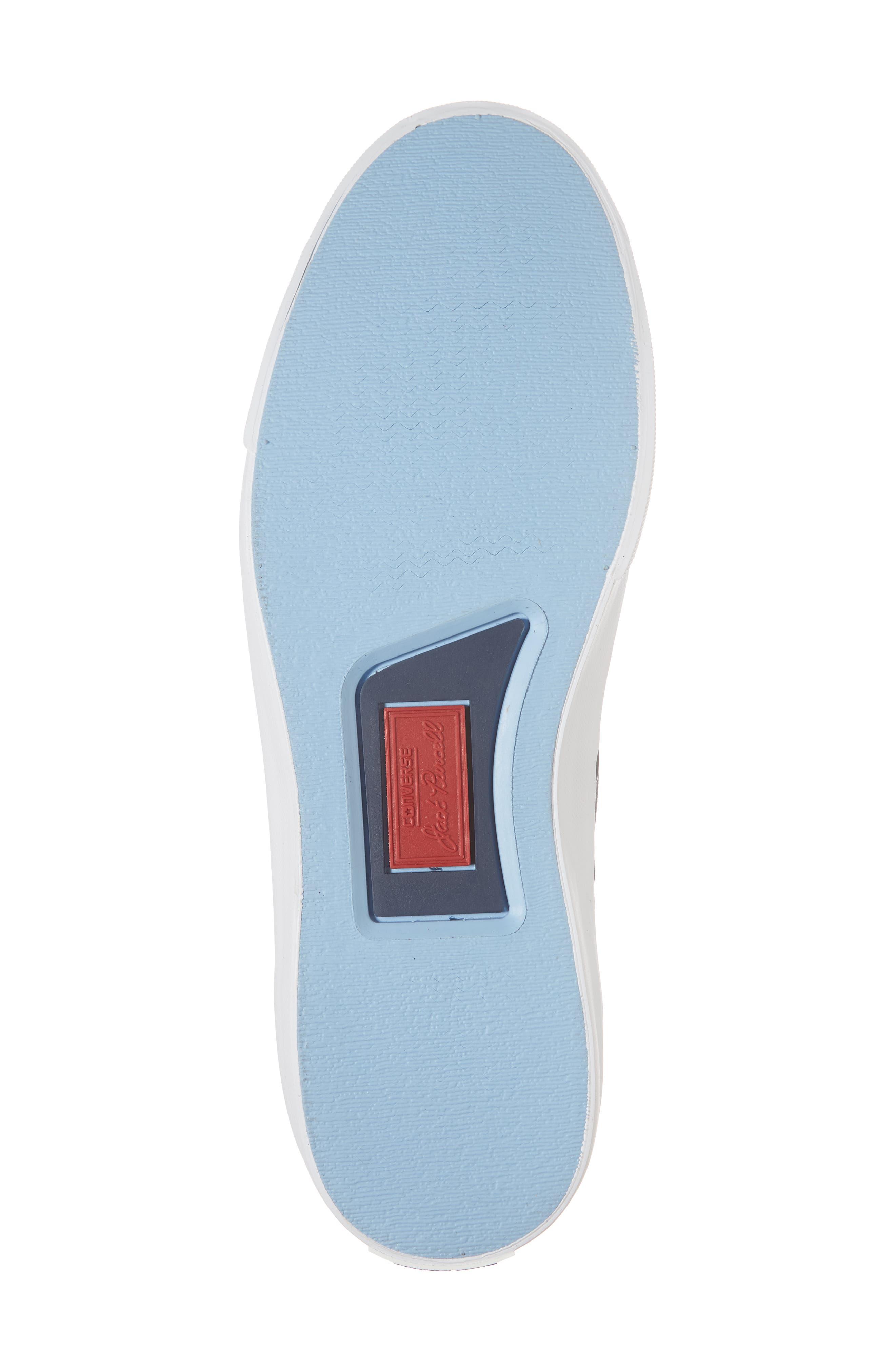 Jack Purcell Ripstop Sneaker,                             Alternate thumbnail 6, color,                             Black