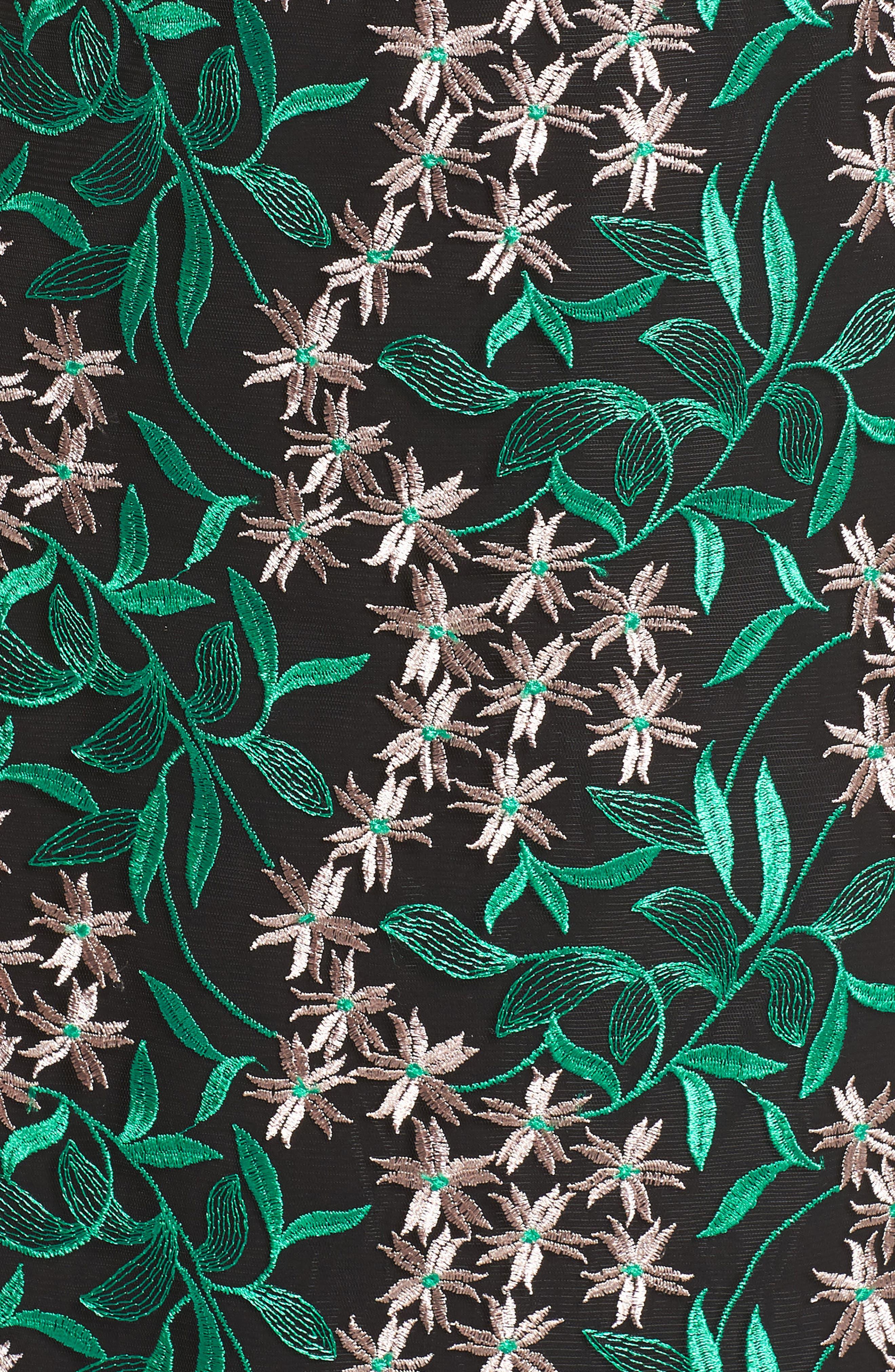 Alternate Image 5  - Sam Edelman Embroidered Lace Pencil Dress