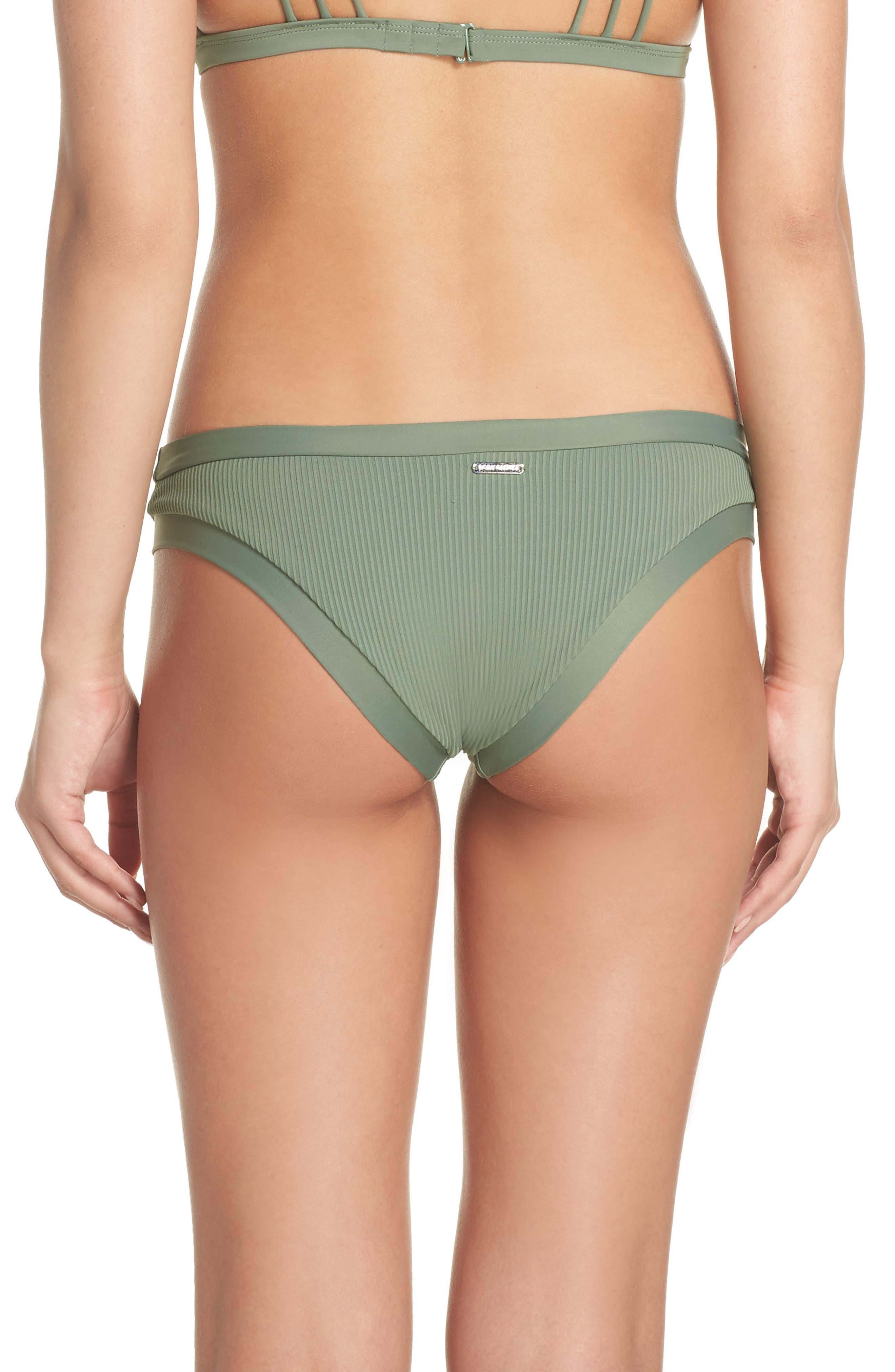 Ibiza Audrey Hipster Bikini Bottoms,                             Alternate thumbnail 2, color,                             Cactus