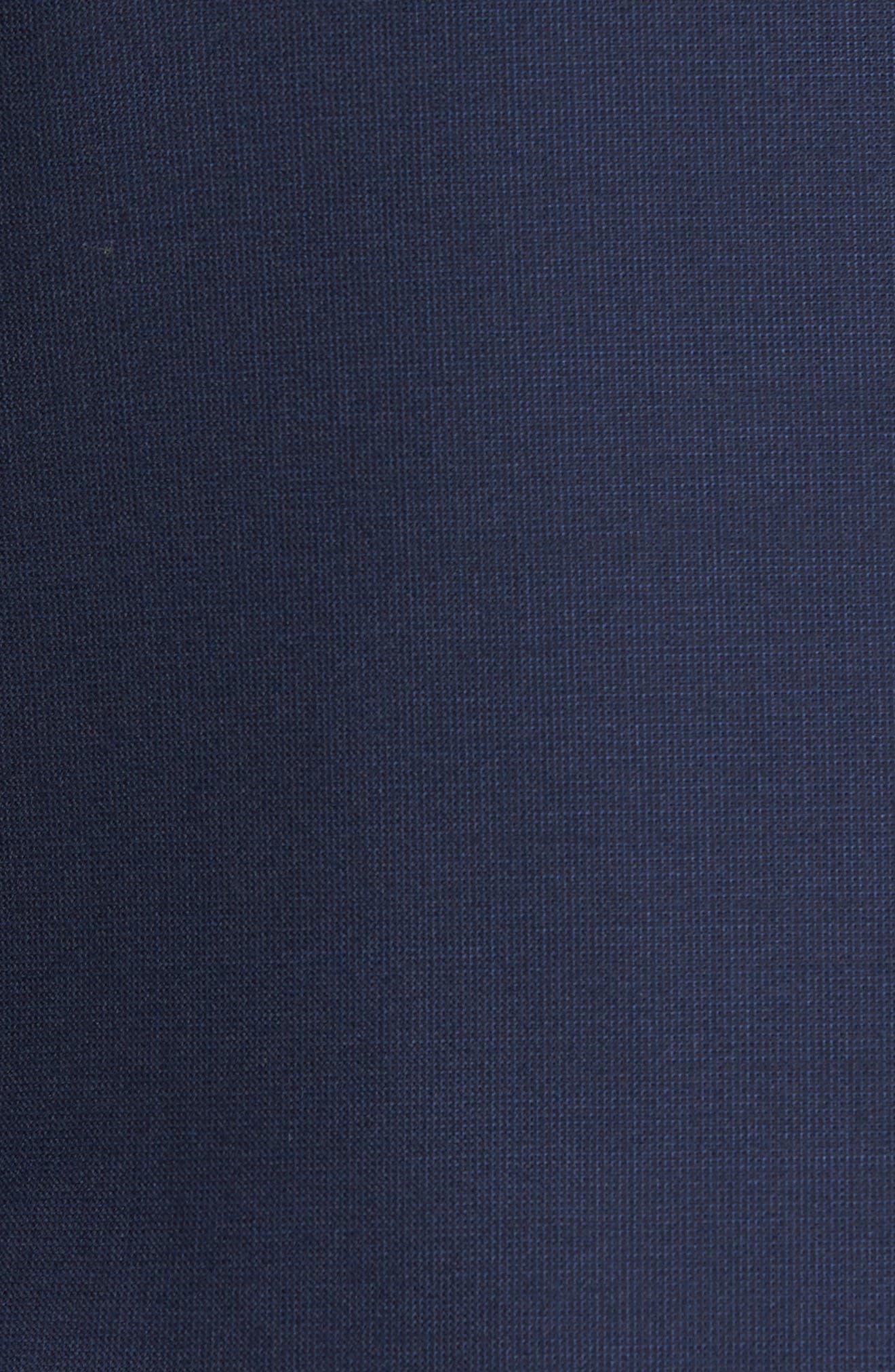 Trevi Trim Fit Wool Blazer,                             Alternate thumbnail 5, color,                             Navy