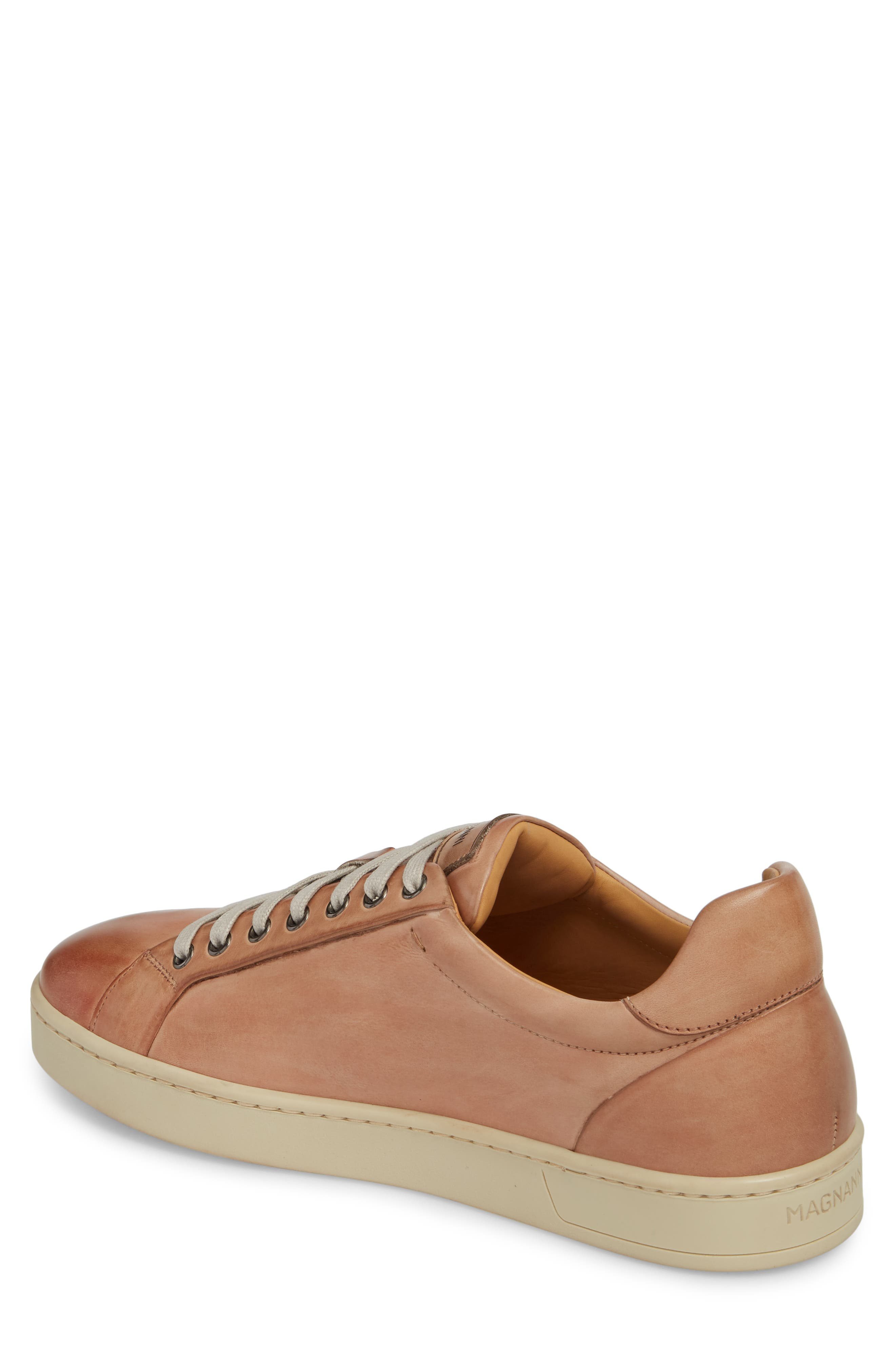 Elonso Low Top Sneaker,                             Alternate thumbnail 2, color,                             Rosa Leather