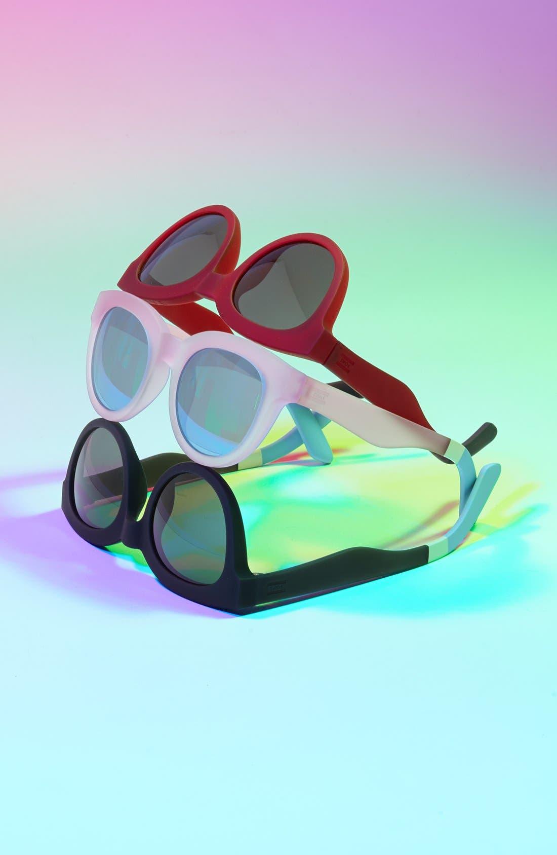 Alternate Image 1 Selected - TOMS 'Traveler' 52mm Sunglasses (Women)