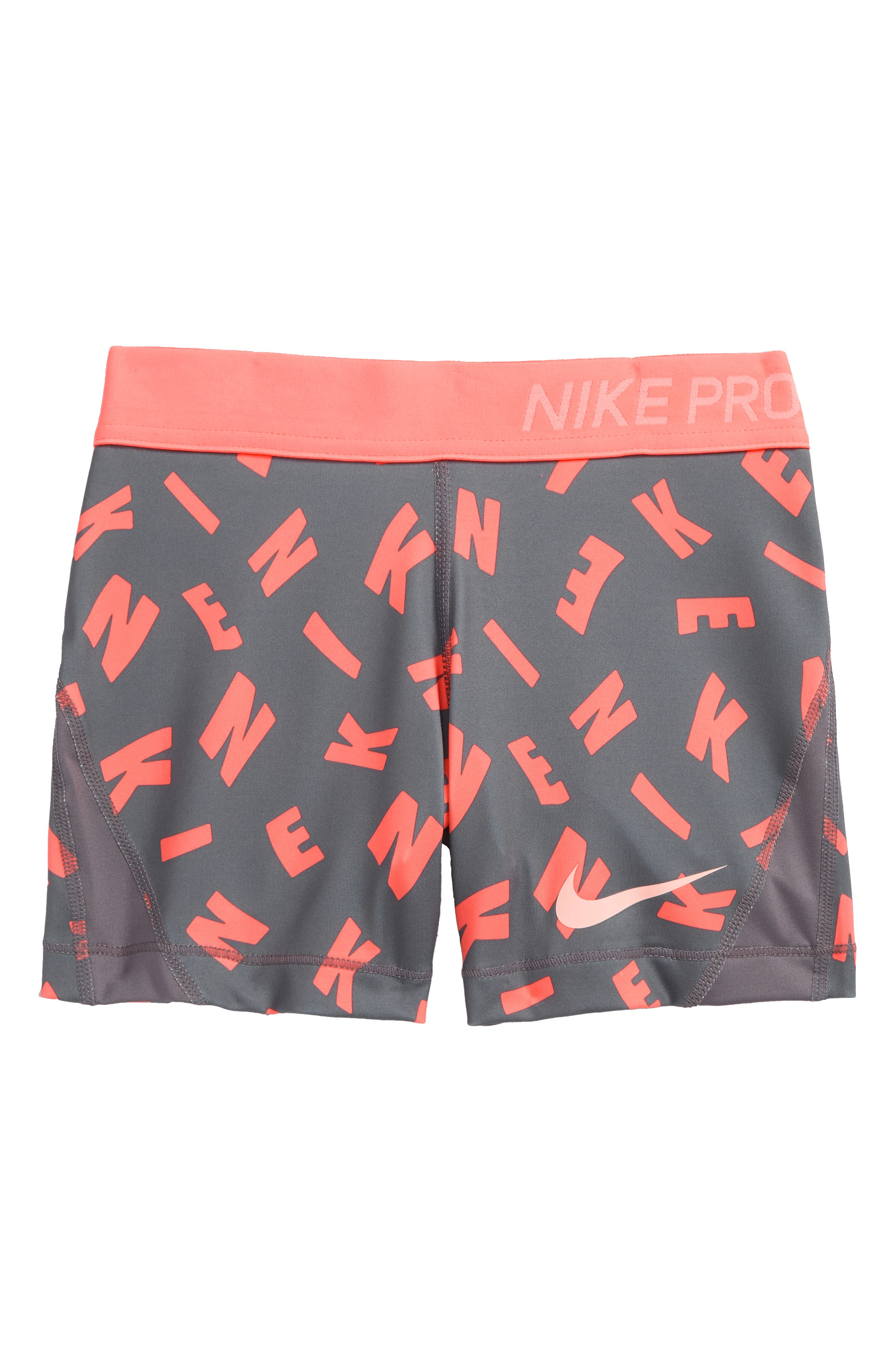 Pro Dry Shorts,                         Main,                         color, Gun Smoke/ Crimson Tint