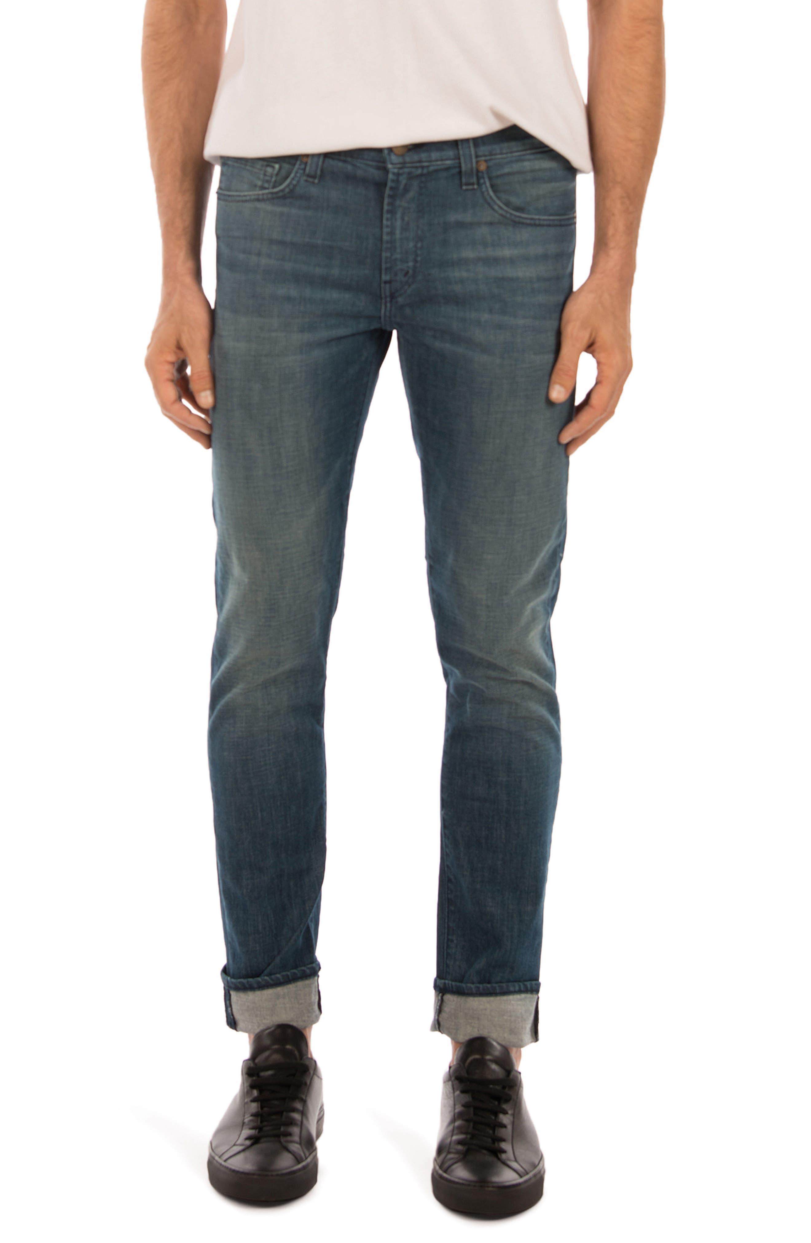 Tyler Slim Fit Jeans,                             Main thumbnail 1, color,                             Latitude