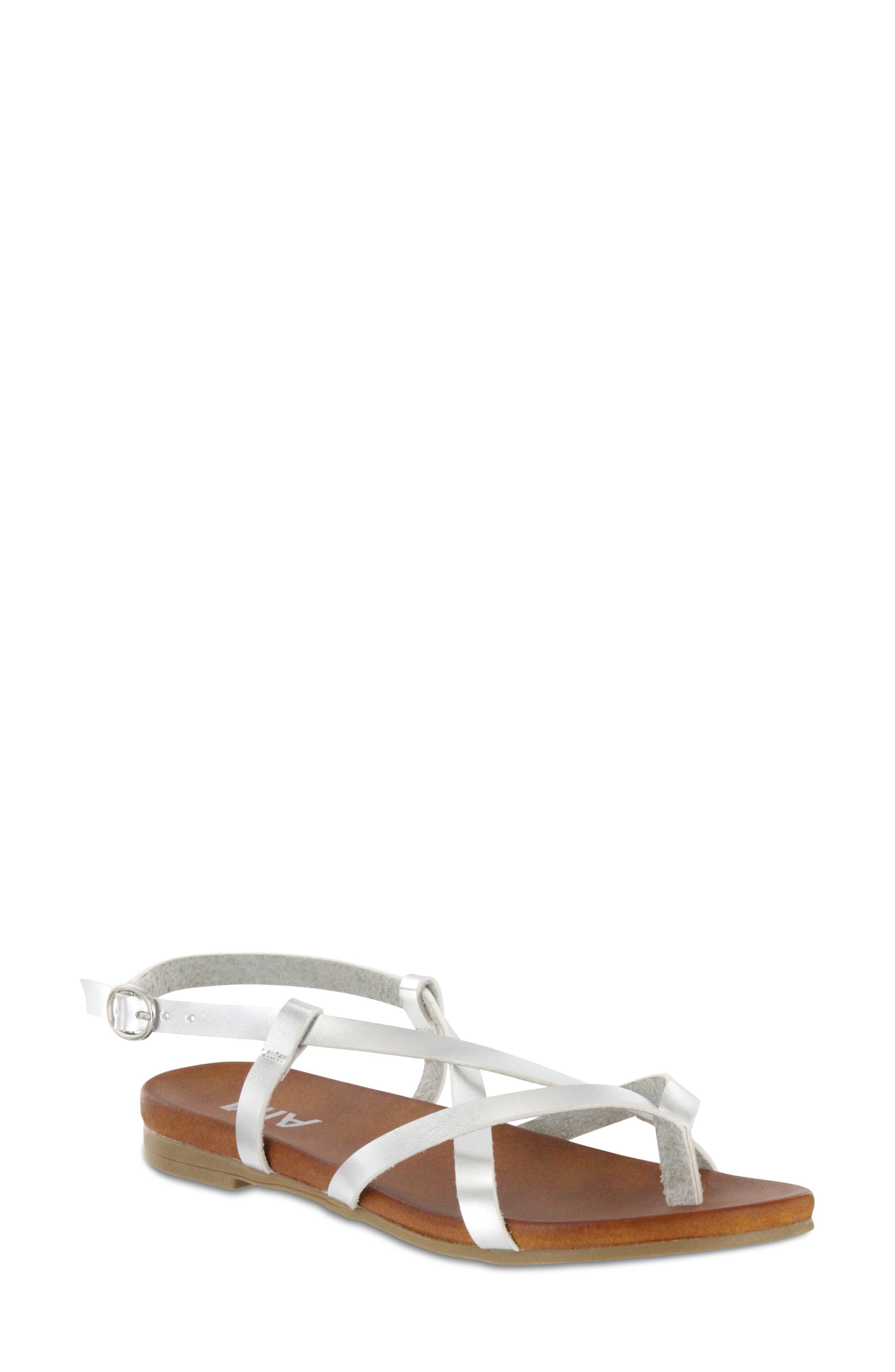 MIA Lynn Strappy Flat Sandal (Women)