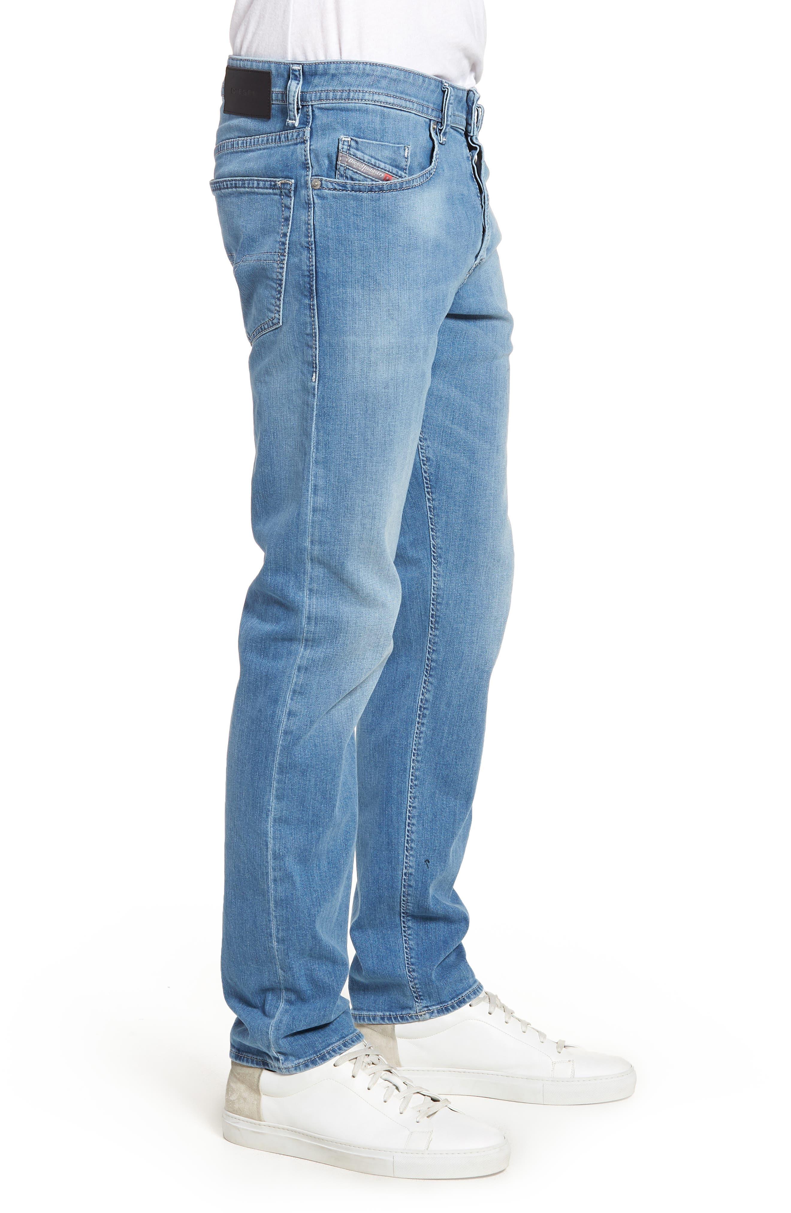 Buster Slim Straight Leg Jeans,                             Alternate thumbnail 3, color,                             Denim