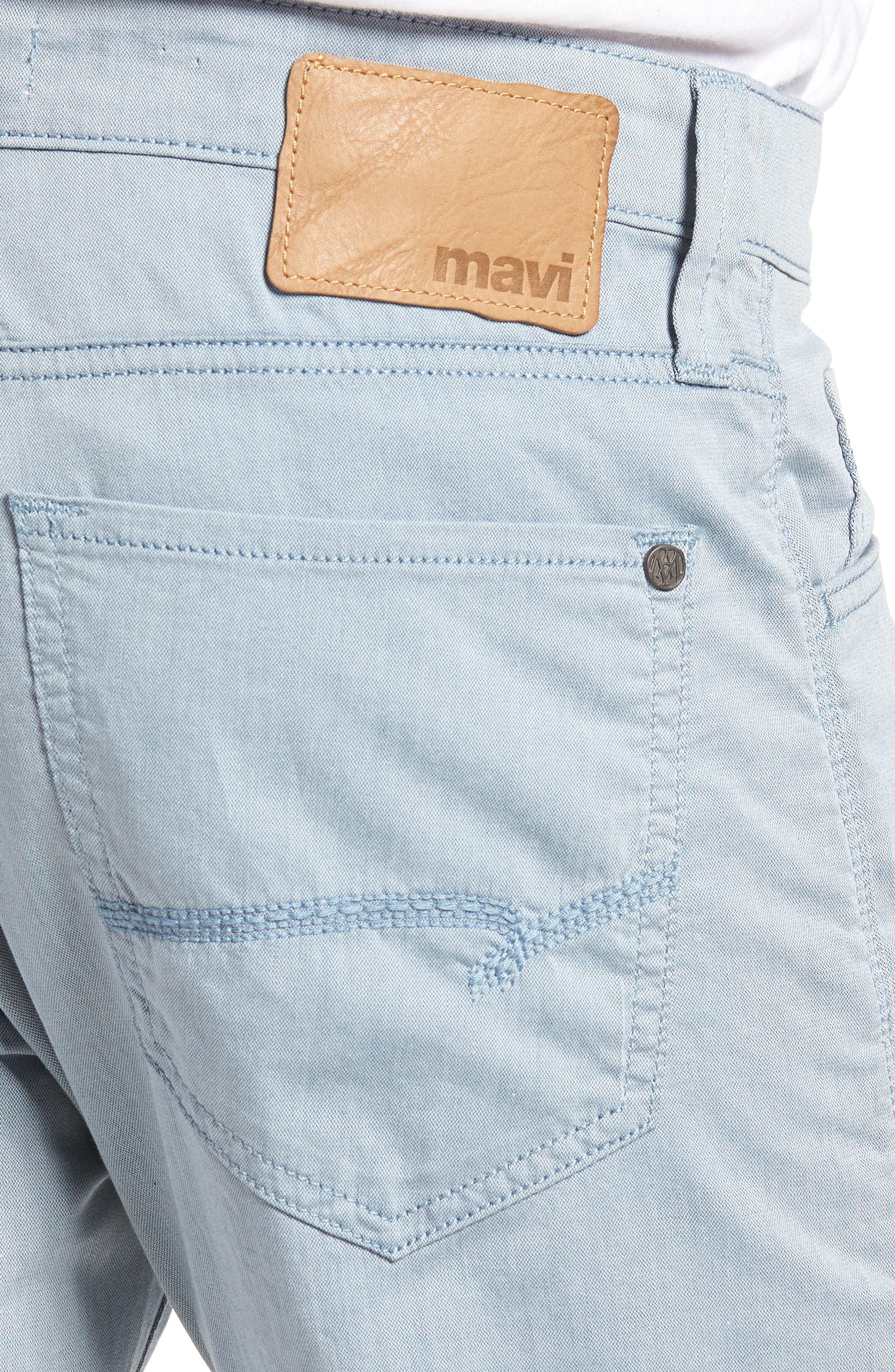Jake Slim Fit Jeans,                             Alternate thumbnail 4, color,                             Blue Reversed