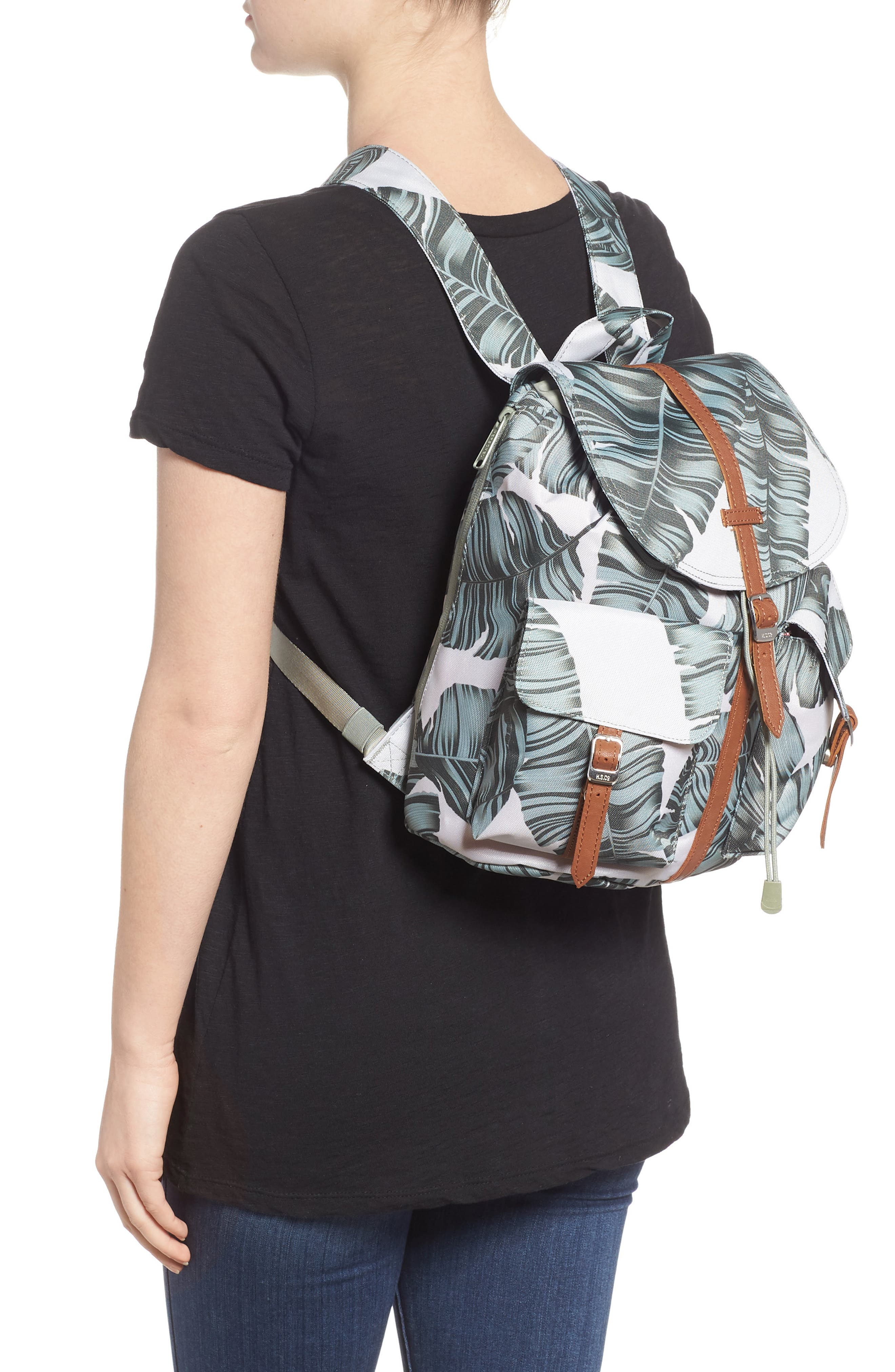 X-Small Dawson Backpack,                             Alternate thumbnail 2, color,                             Silver Birch Palm