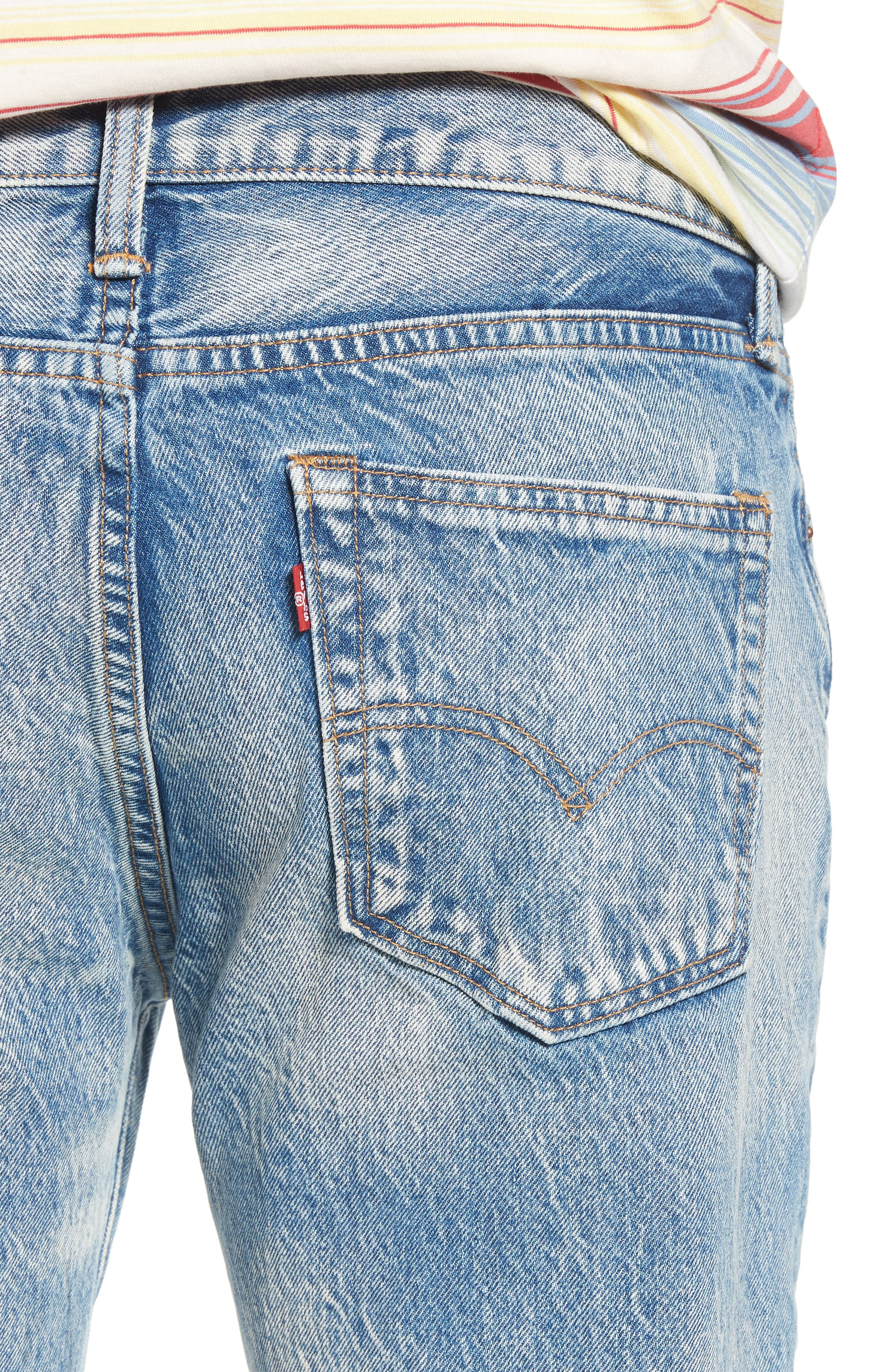510<sup>™</sup> Skinny Jeans,                             Alternate thumbnail 4, color,                             Rolled Up Dollar
