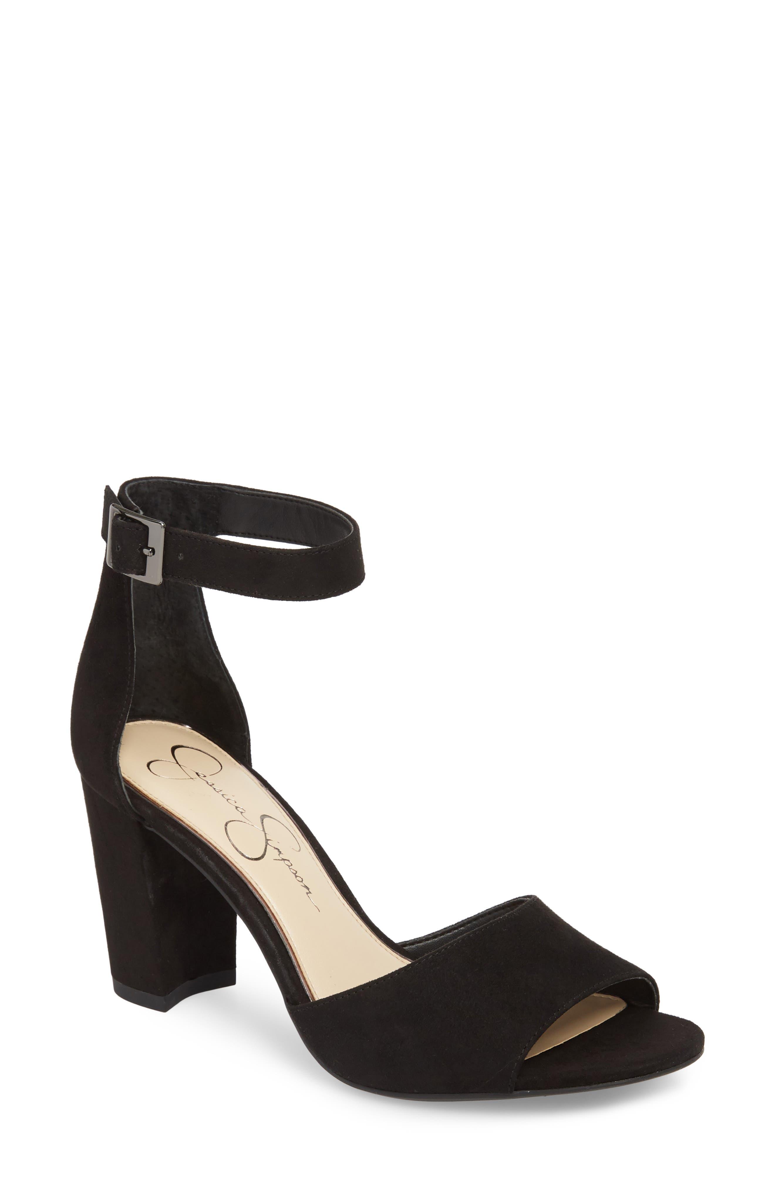 Sherron Sandal,                         Main,                         color, Black 05
