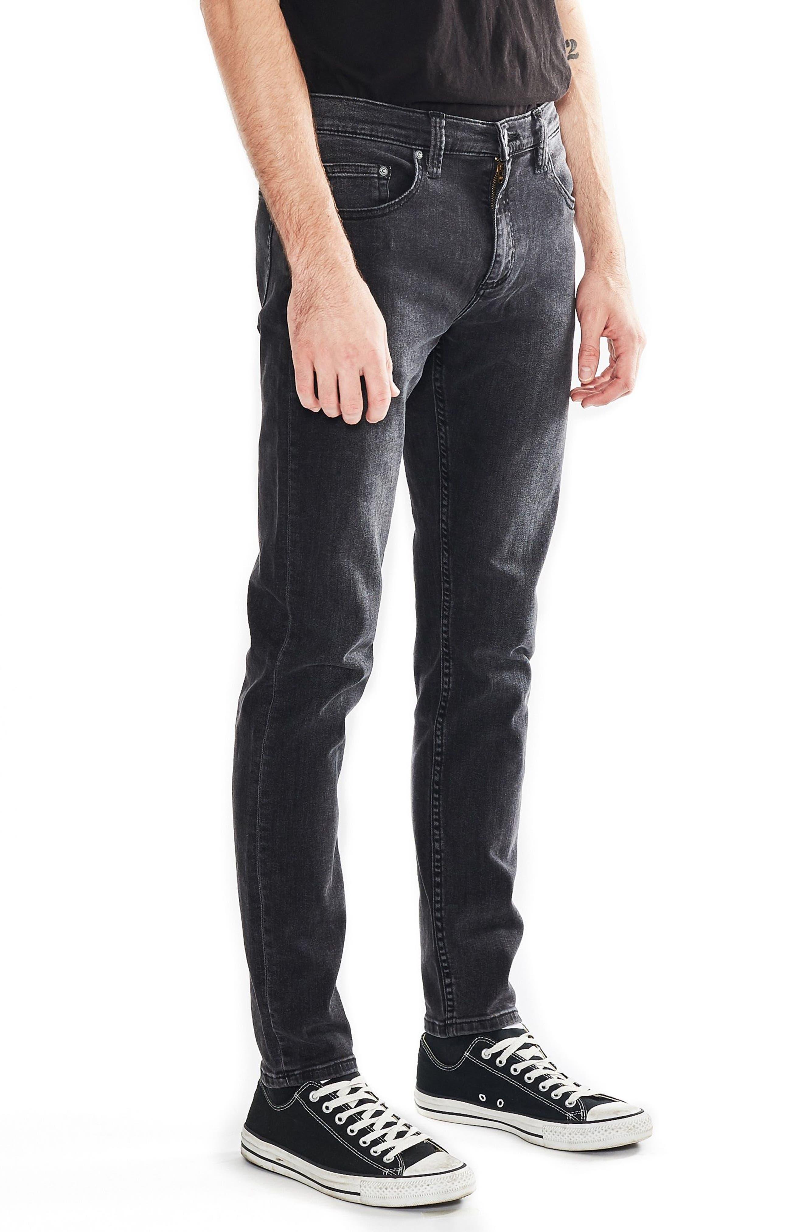 Stinger Skinny Fit Jeans,                             Alternate thumbnail 3, color,                             Old Gold